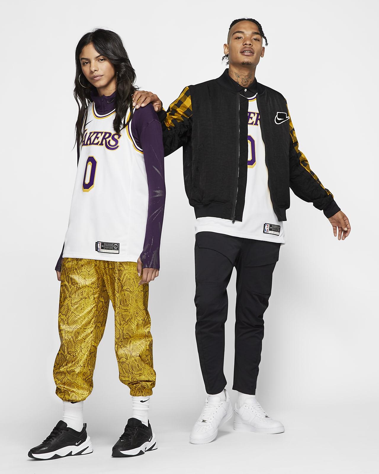 Kyle Kuzma Lakers Association Edition Nike NBA Swingman Jersey