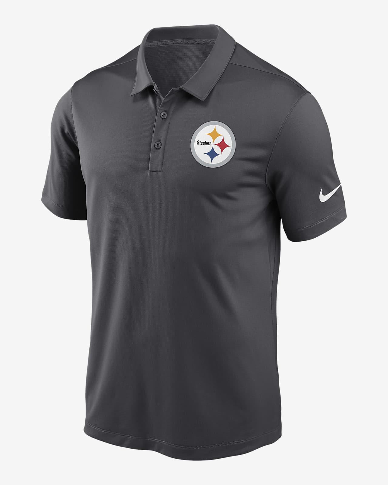 Nike Dri-FIT Logo Franchise (NFL Pittsburgh Steelers) Men's Polo
