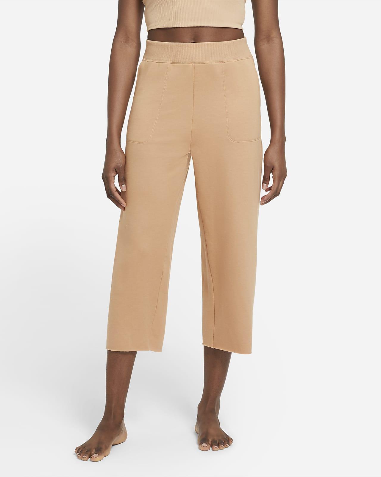 Nike Yoga Luxe Women's Cropped Fleece Pants
