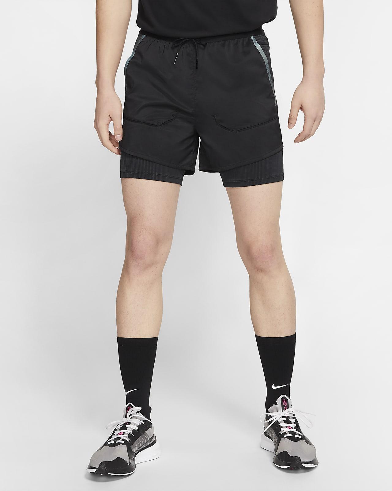 กางเกงวิ่งขาสั้น 2-in-1 ผู้ชาย Nike Tech Pack