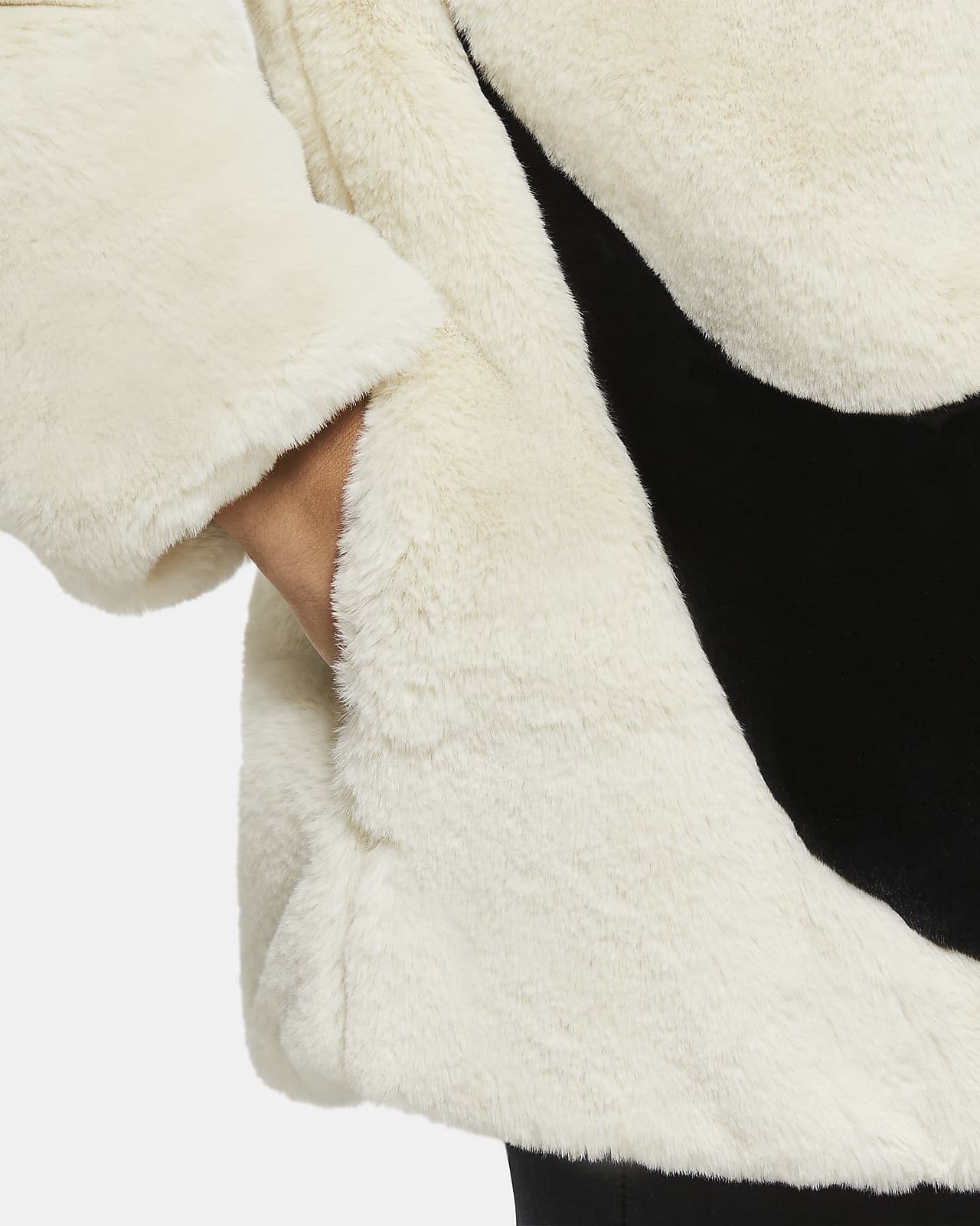 Nike Sportswear Women's Faux Fur Jacket. Nike LU