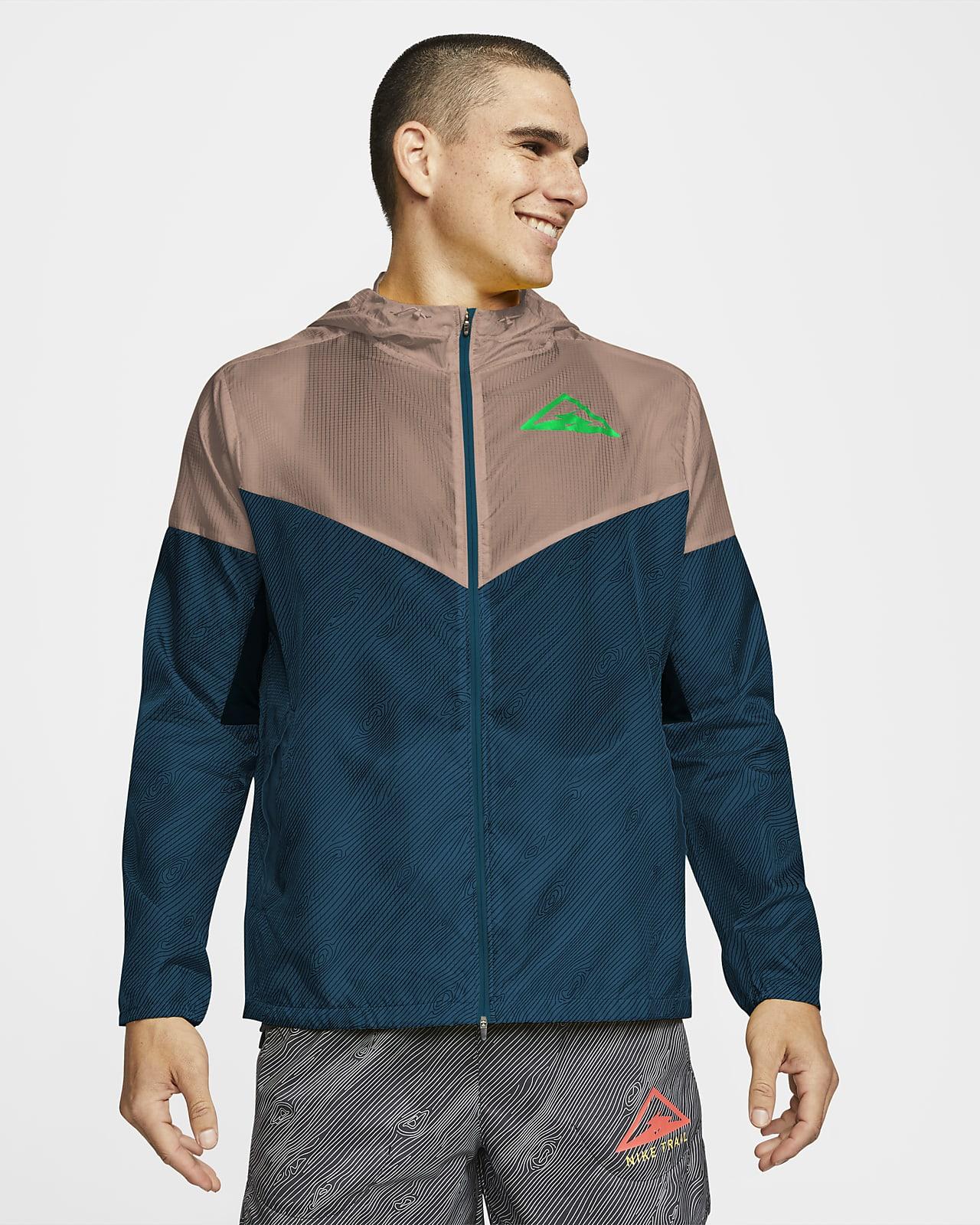 pensión Dialecto refugiados  Nike Windrunner Men's Hooded Trail Running Jacket. Nike SG