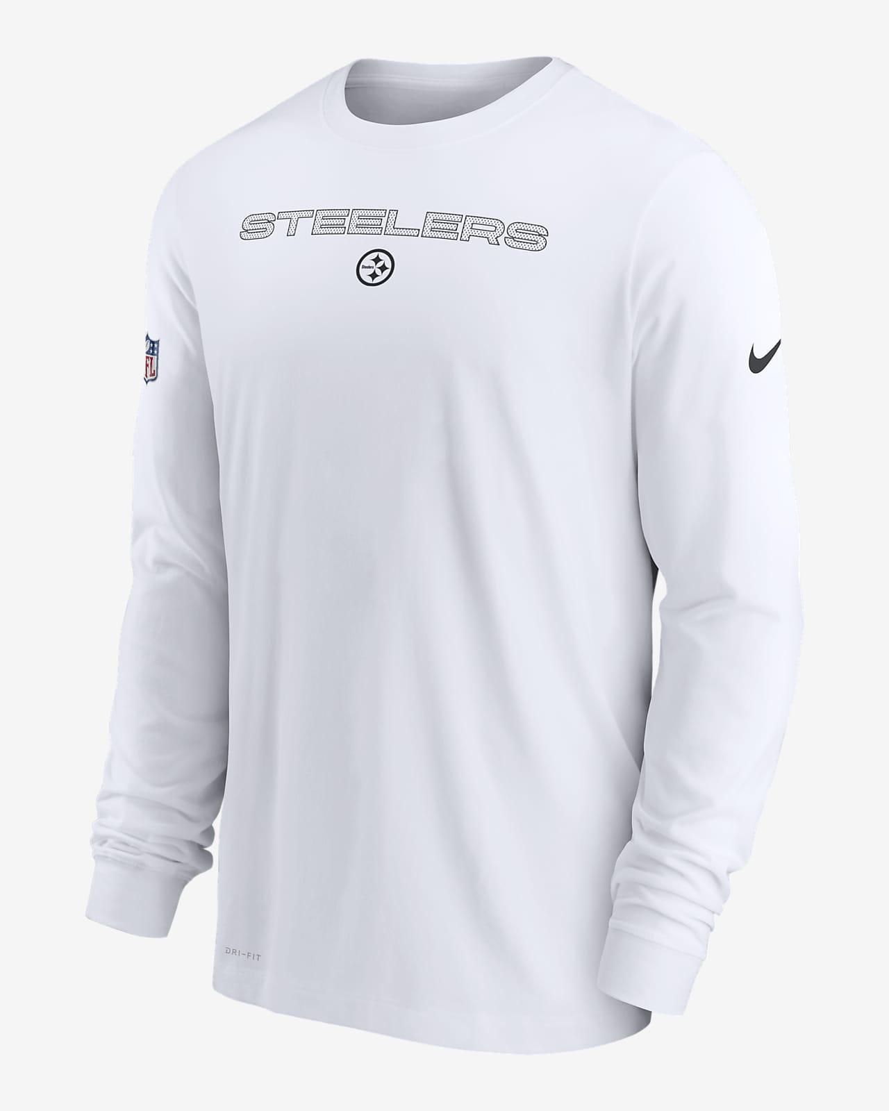 Nike Dri-FIT Sideline Team Issue (NFL Pittsburgh Steelers) Men's Long-Sleeve T-Shirt