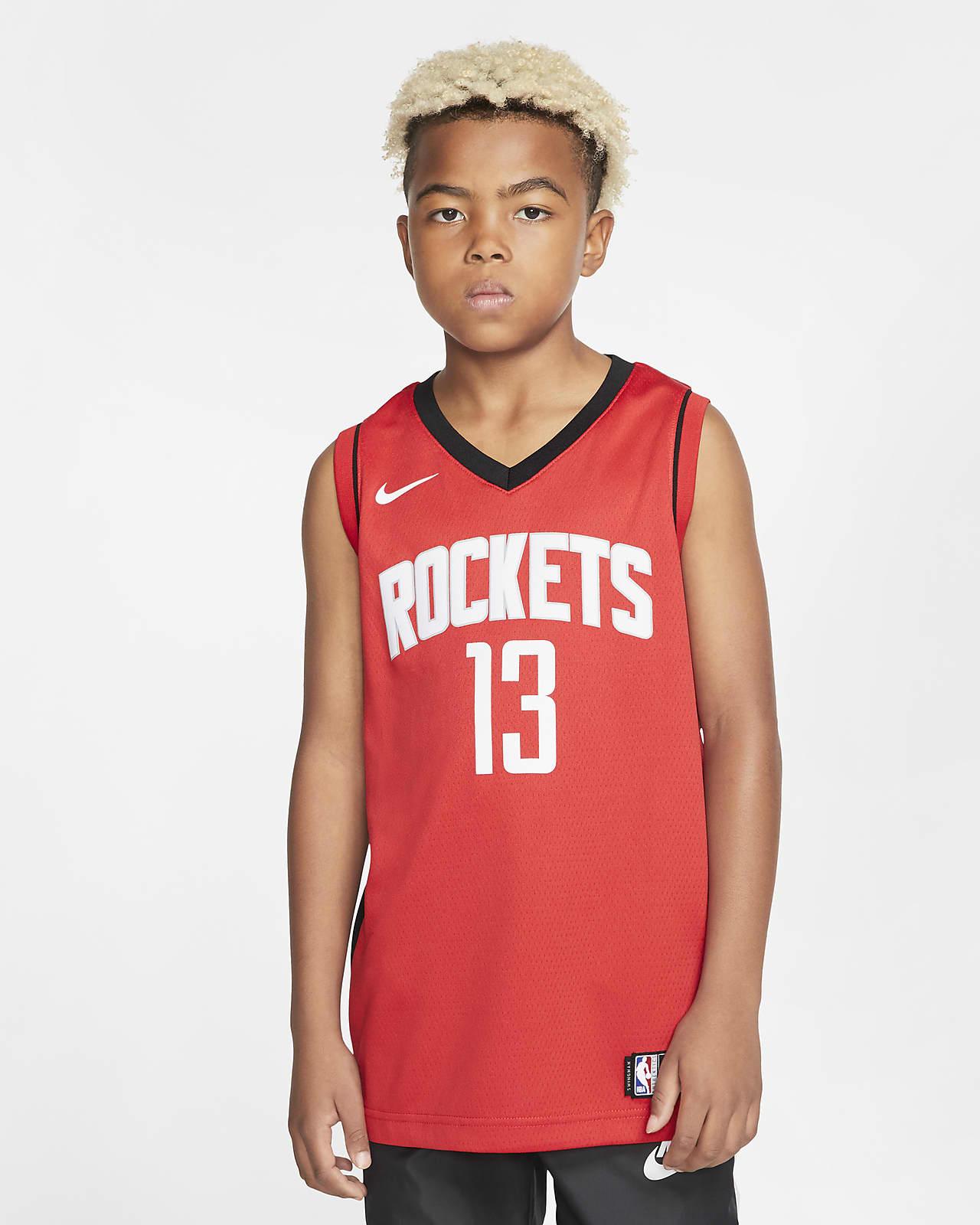 Rockets Icon Edition Nike NBA Swingman mez nagyobb gyerekeknek