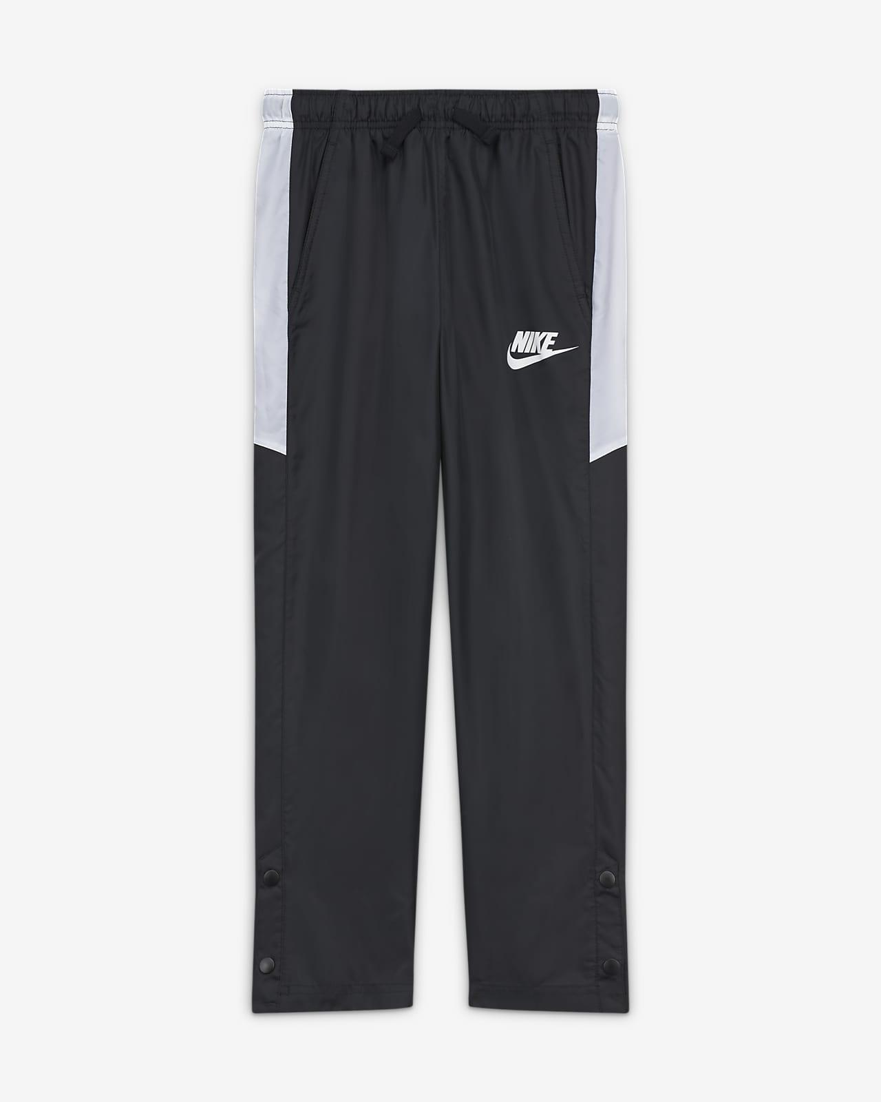 Pantalones de tejido woven para niños talla grande Nike Sportswear