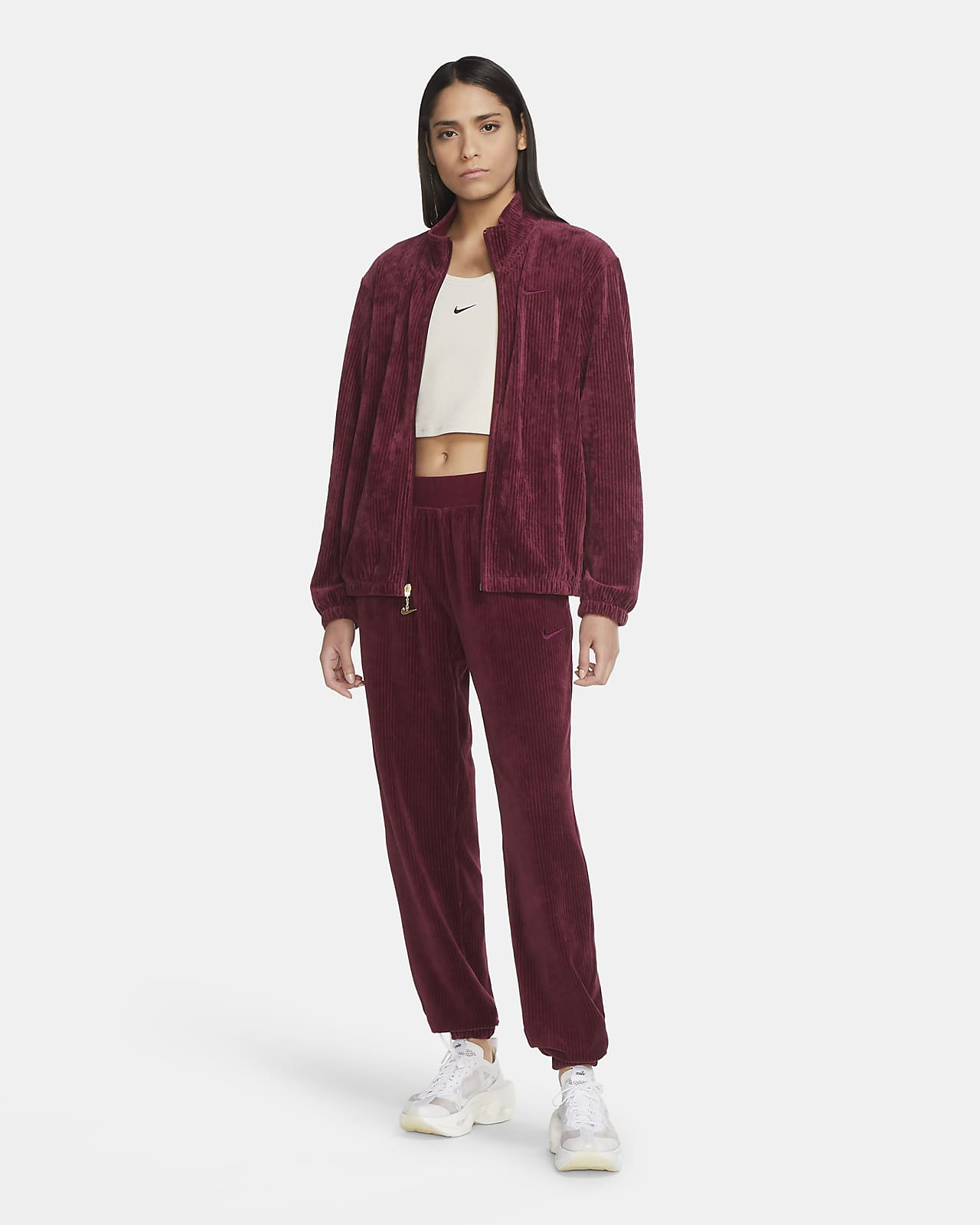 Velour Tracksuit Jacket. Nike CH