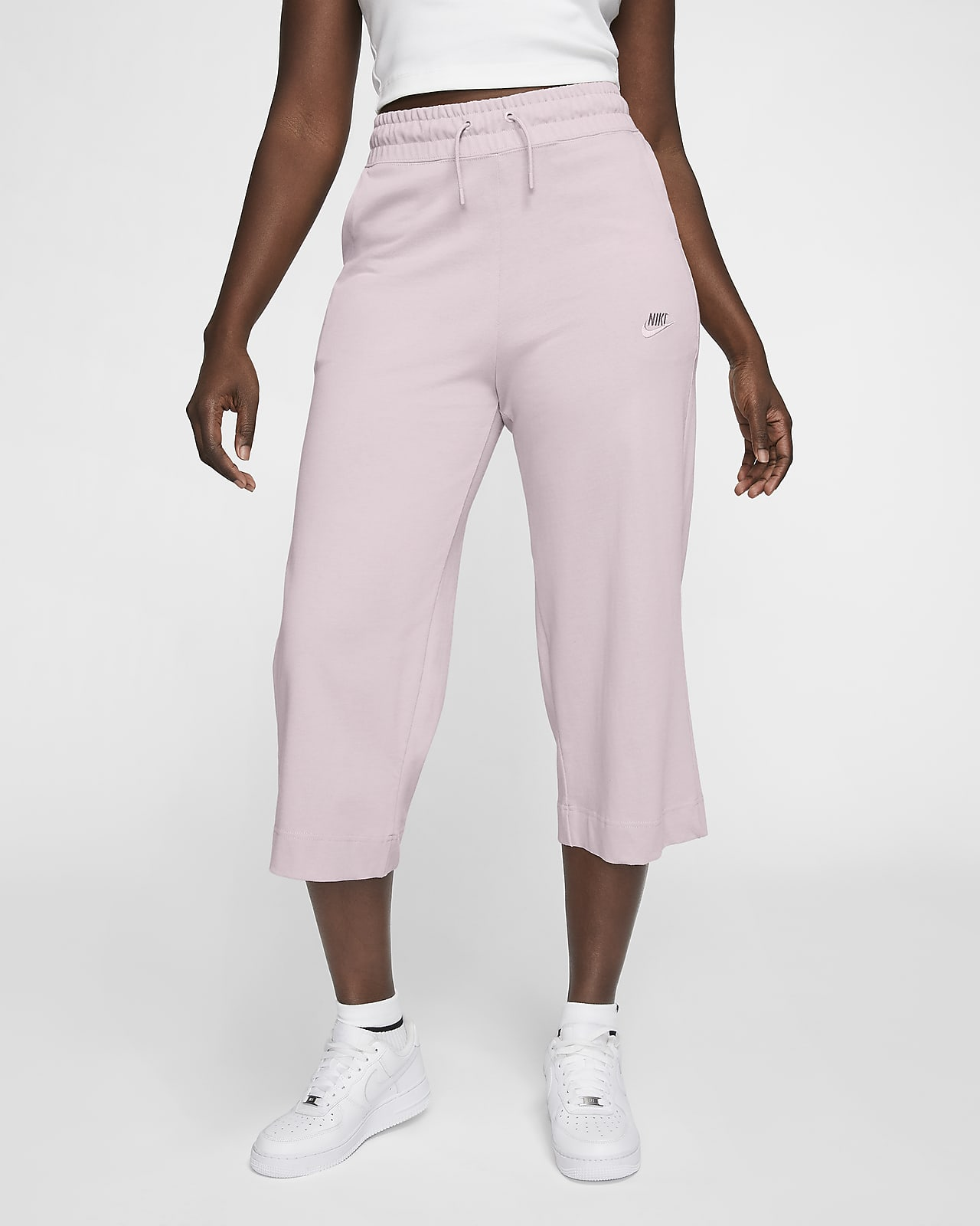 Pantalones Capri De Tejido De Punto Para Mujer Nike Sportswear Nike Com