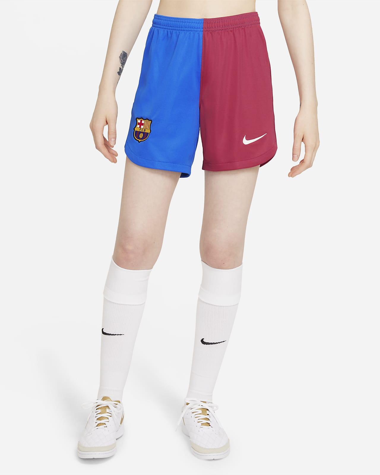 Shorts de fútbol del FC Barcelona local 2021/22 Stadium para mujer