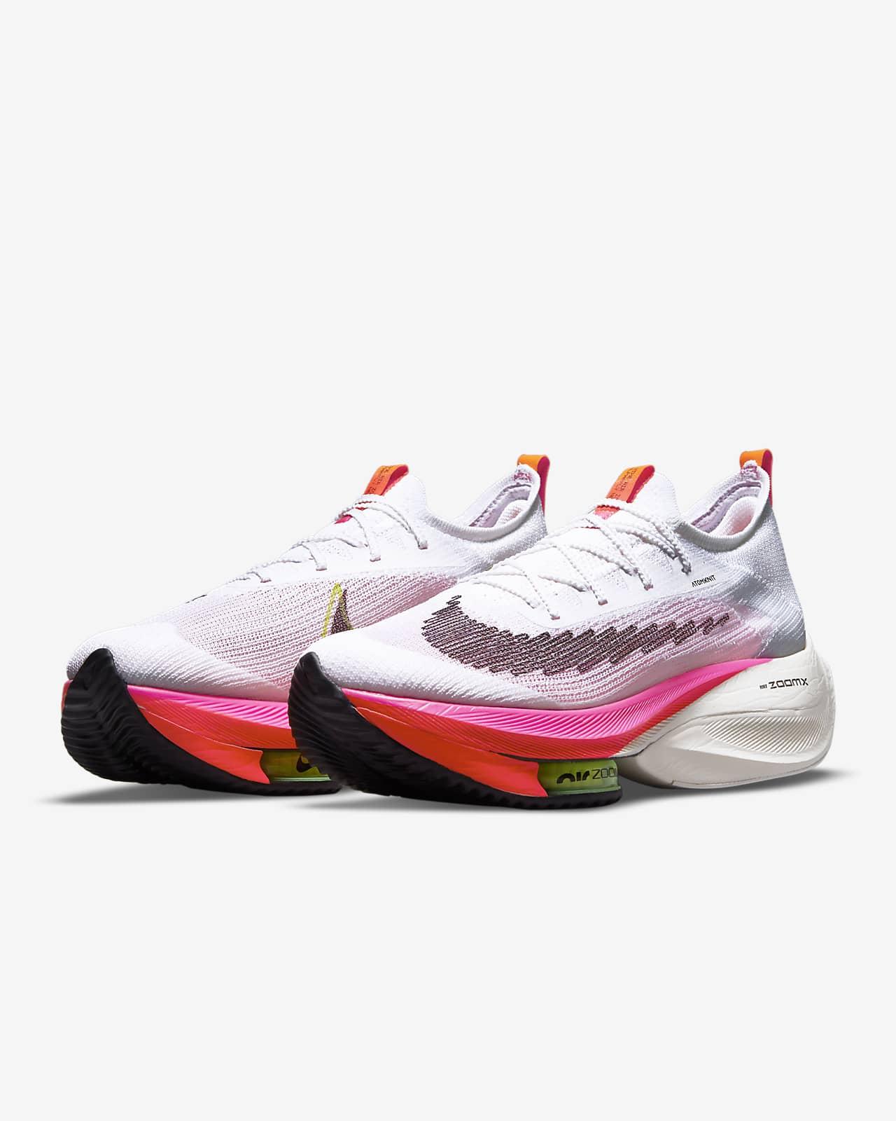 Nike Air Zoom Alphafly NEXT% Flyknit Men's Road Racing Shoe. Nike.com