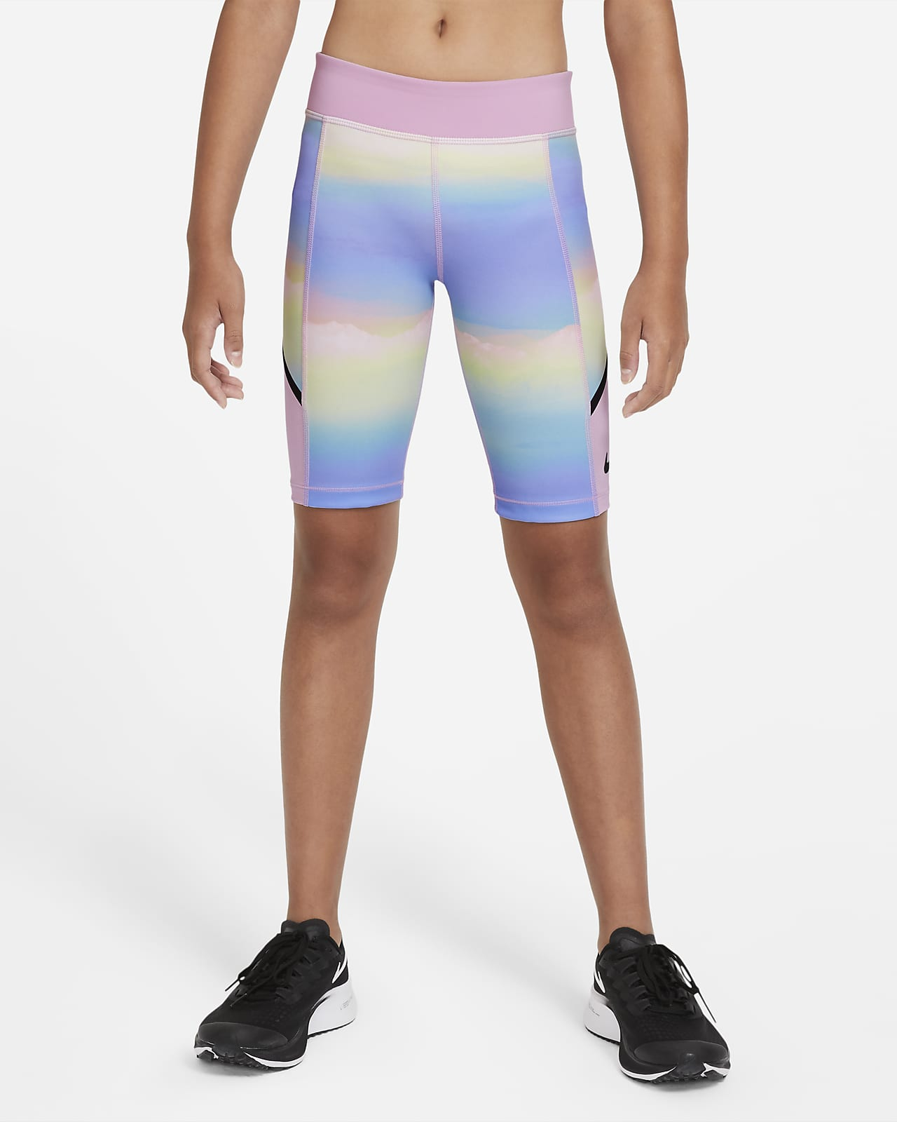 Nike Tech Pack Older Kids' (Girls') Printed Training Shorts