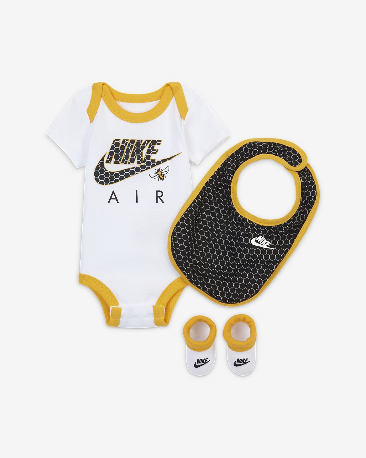 Conjunto de 3 piezas para bebé Nike Air