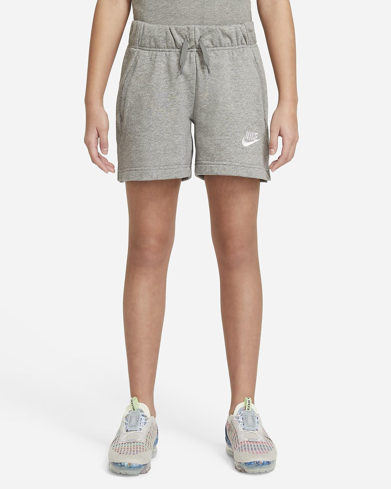 Nike Sportswear Club Big Kids' (Girls') French Terry Shorts
