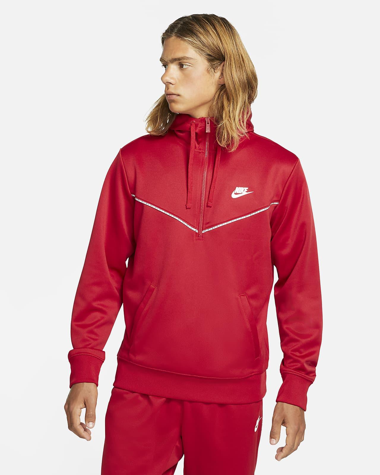 Męska bluza z kapturem i zamkiem 1/2 Nike Sportswear
