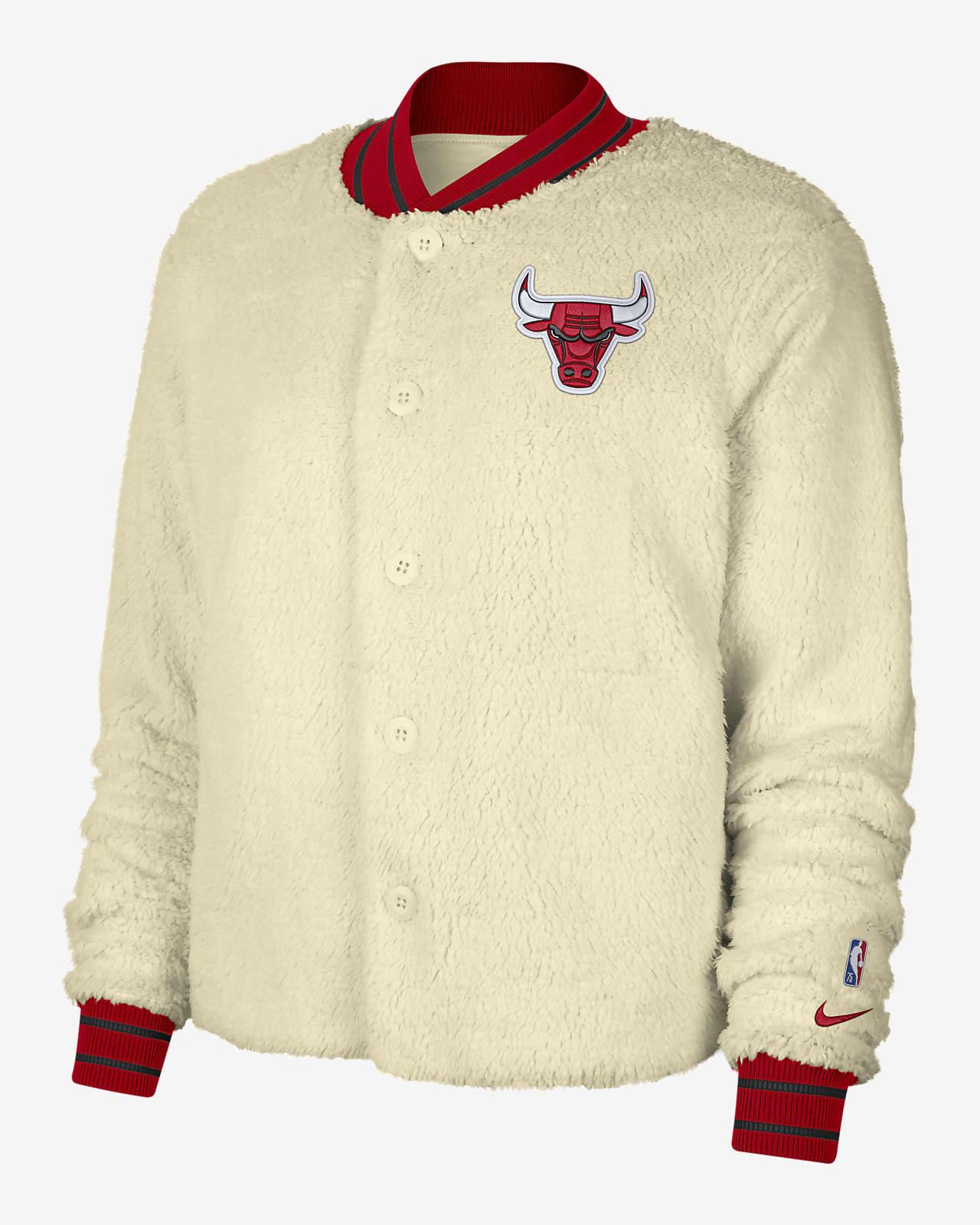 Giacca bomber Chicago Bulls Courtside Nike NBA - Donna