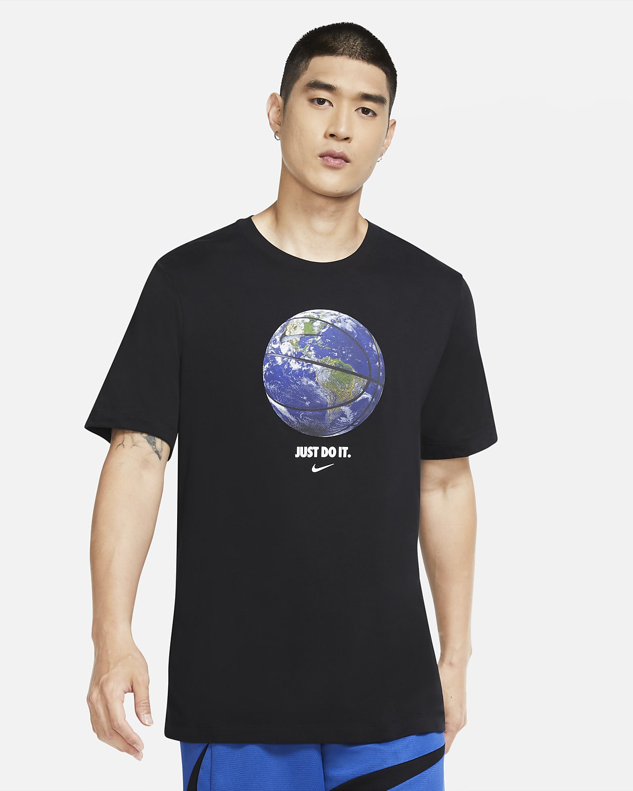 "Nike Dri-FIT ""World Ball"" 男款籃球 T 恤"