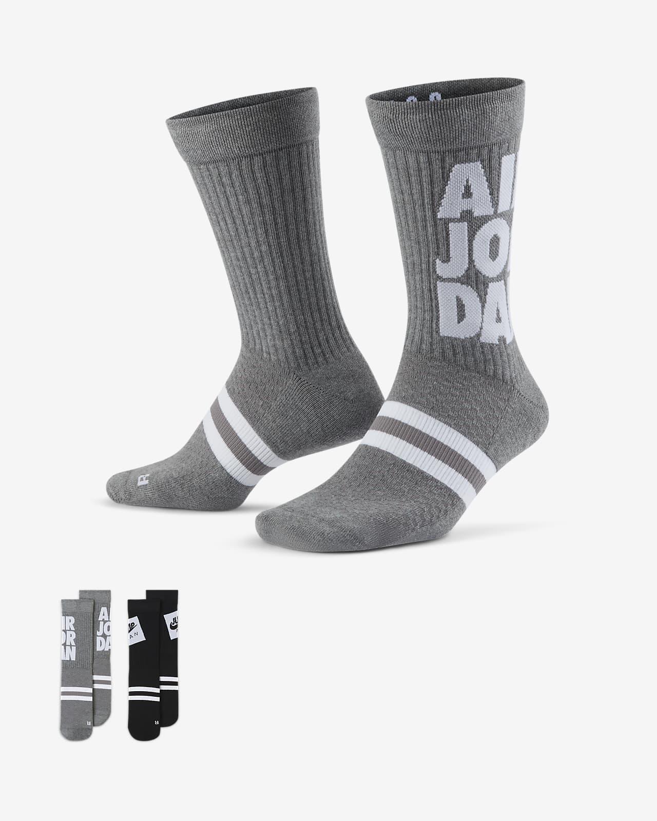 Jordan Legacy Jumpman Classics Crew Socks (2 Pair)