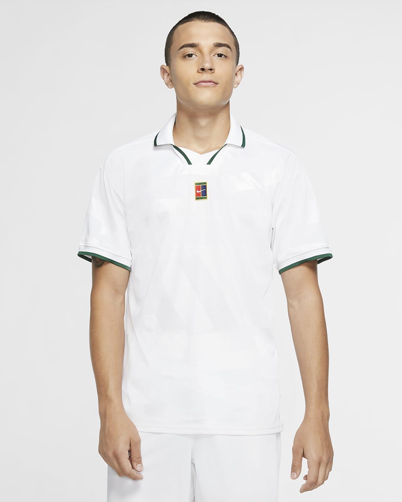 NikeCourt Breathe Slam Men's Tennis Polo