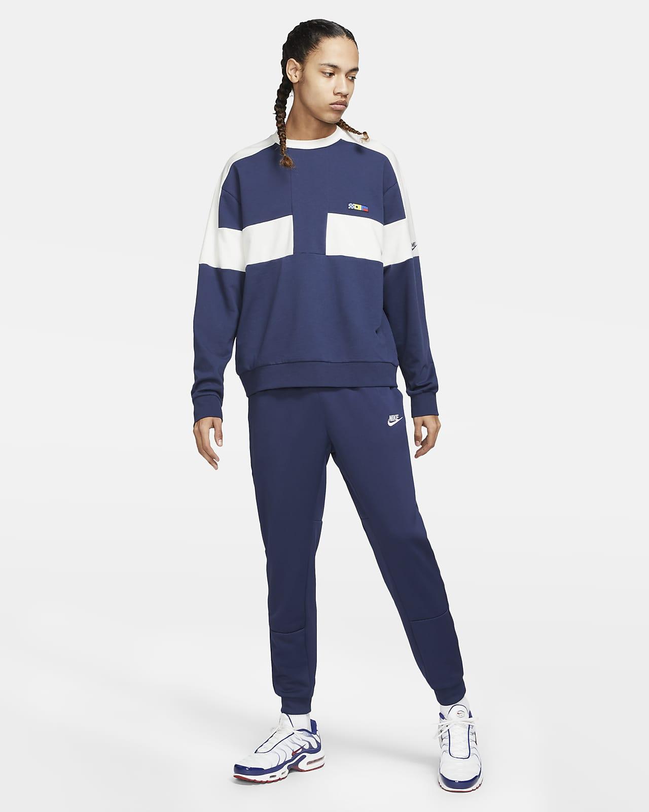 Predownload: Nike Sportswear Reissue Men S French Terry Crew Nike Lu [ 1600 x 1280 Pixel ]