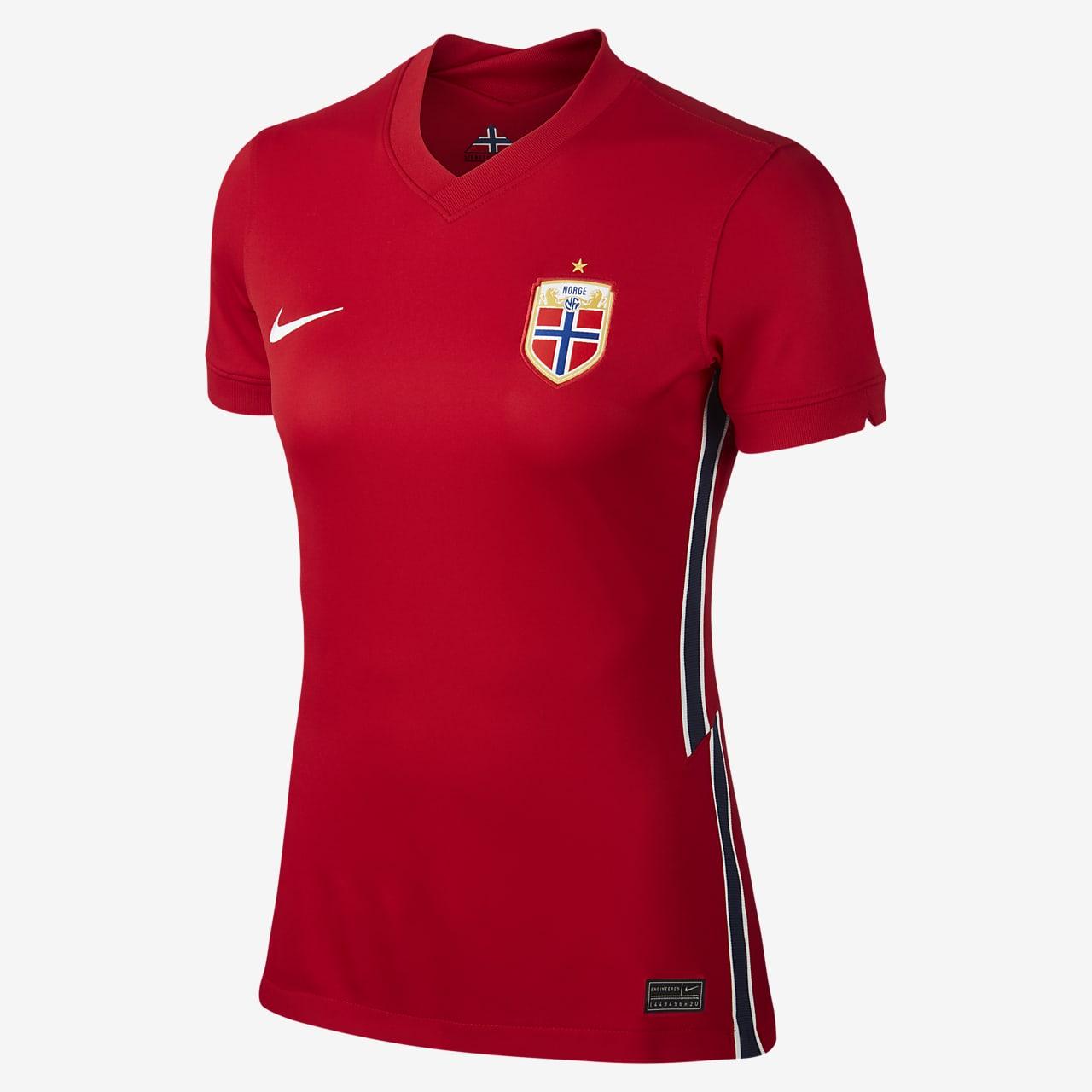 Norway 2020 Stadium Home Women's Football Shirt