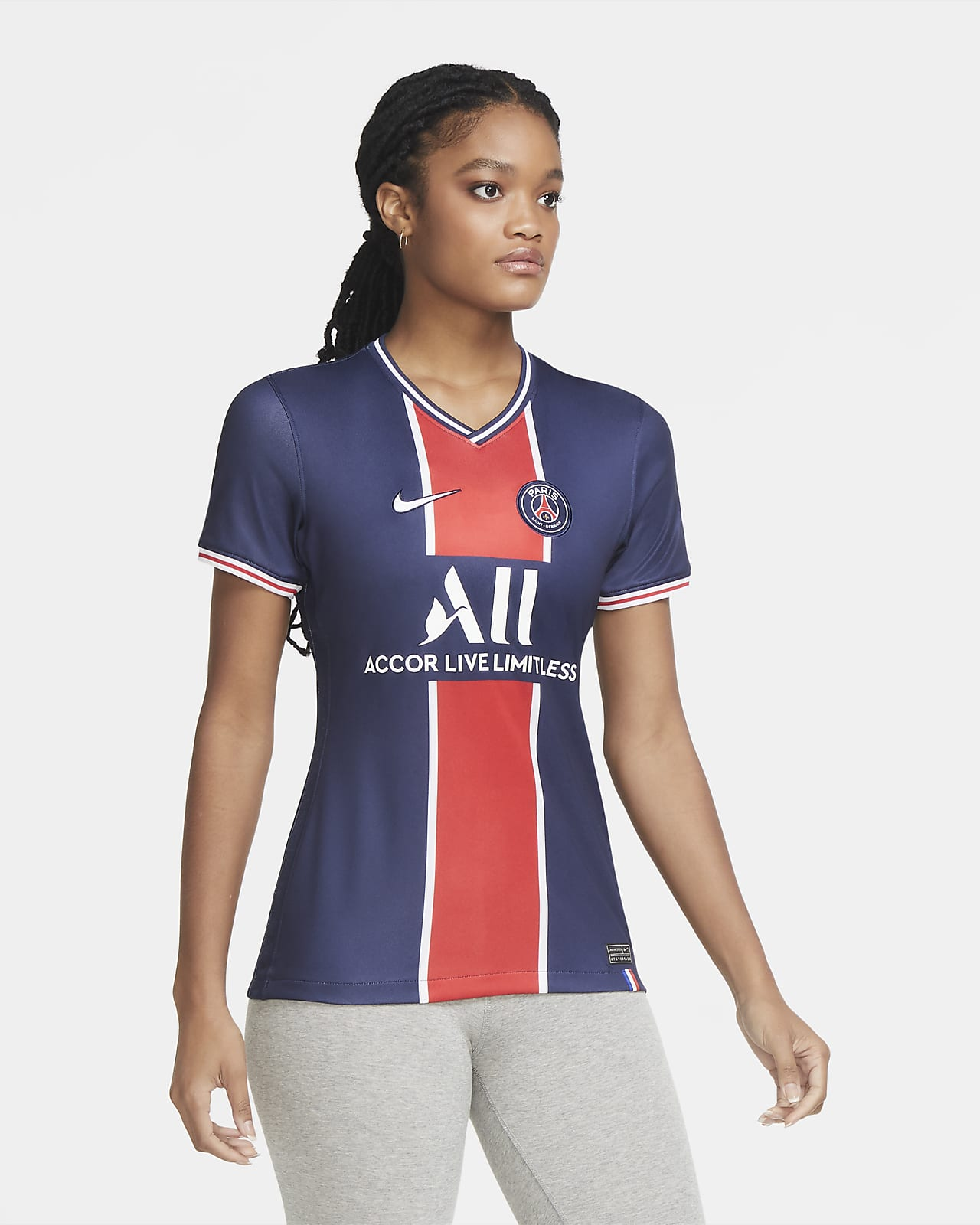 Paris Saint-Germain 2020/21 Stadium Home Damen-Fußballtrikot