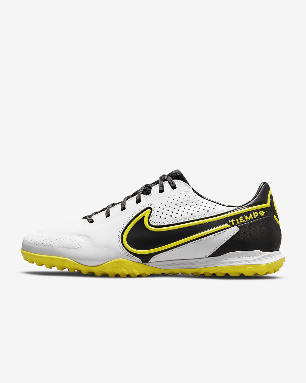 Nike React Tiempo Legend 9 Pro TF Turf Football Shoe. Nike LU