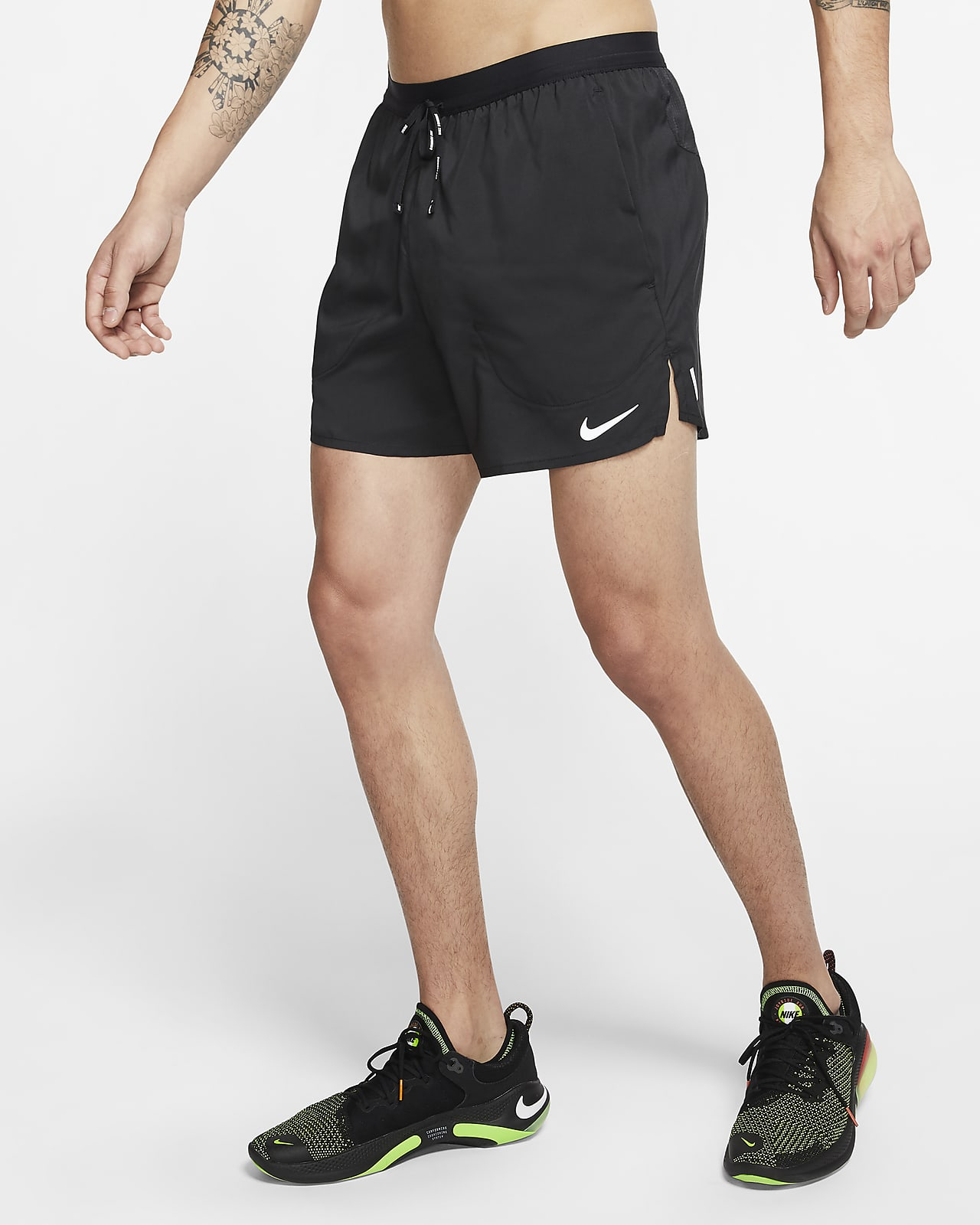 Męskie spodenki z szortami do biegania 13 cm Nike Flex Stride