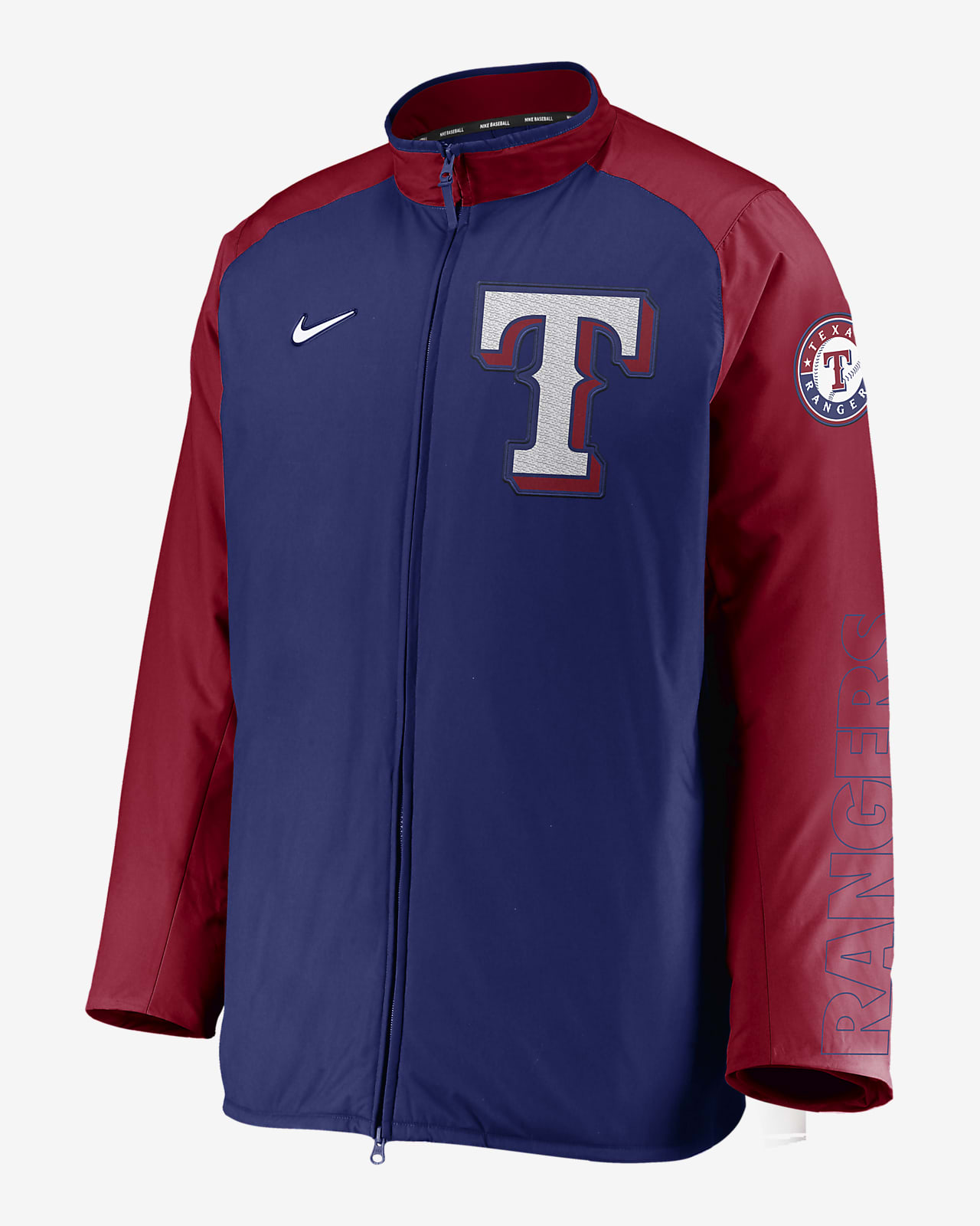 Nike Dugout (MLB Texas Rangers) Men's Full-Zip Jacket