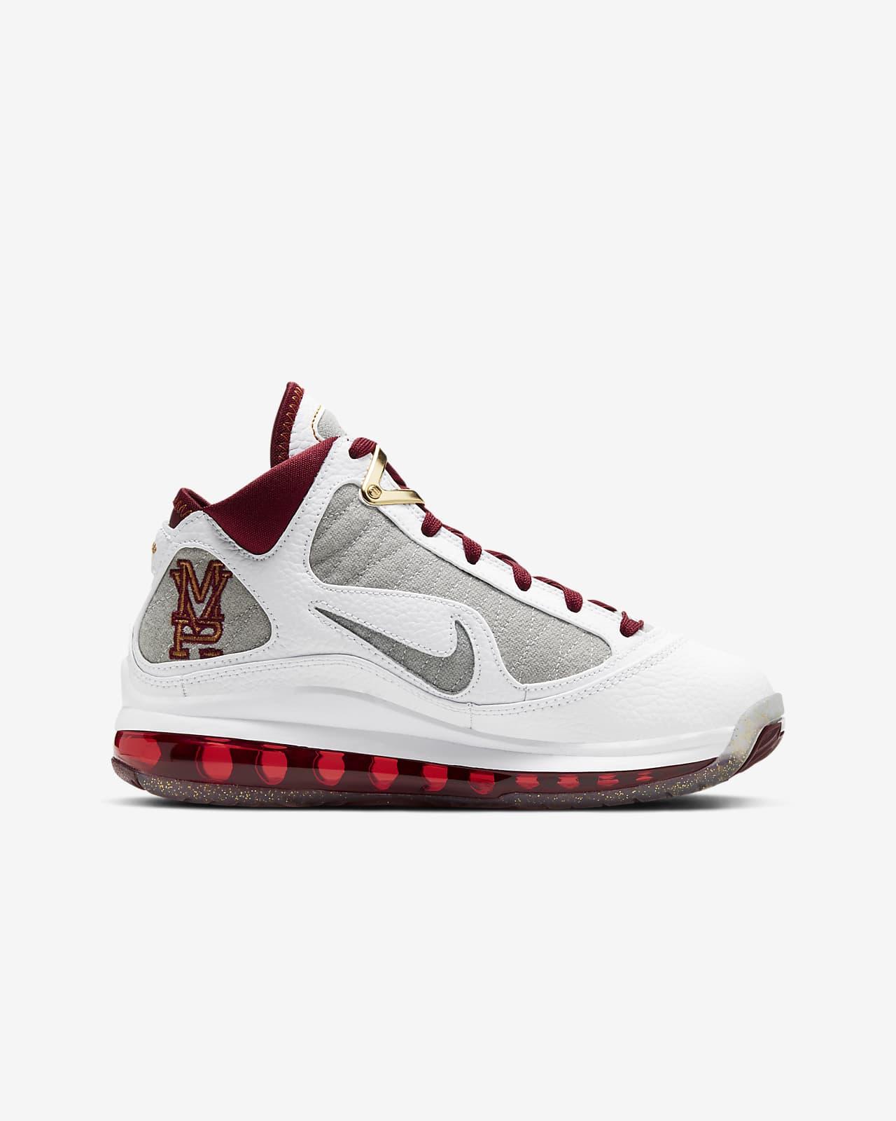 LeBron 7 sko til store barn. Nike NO