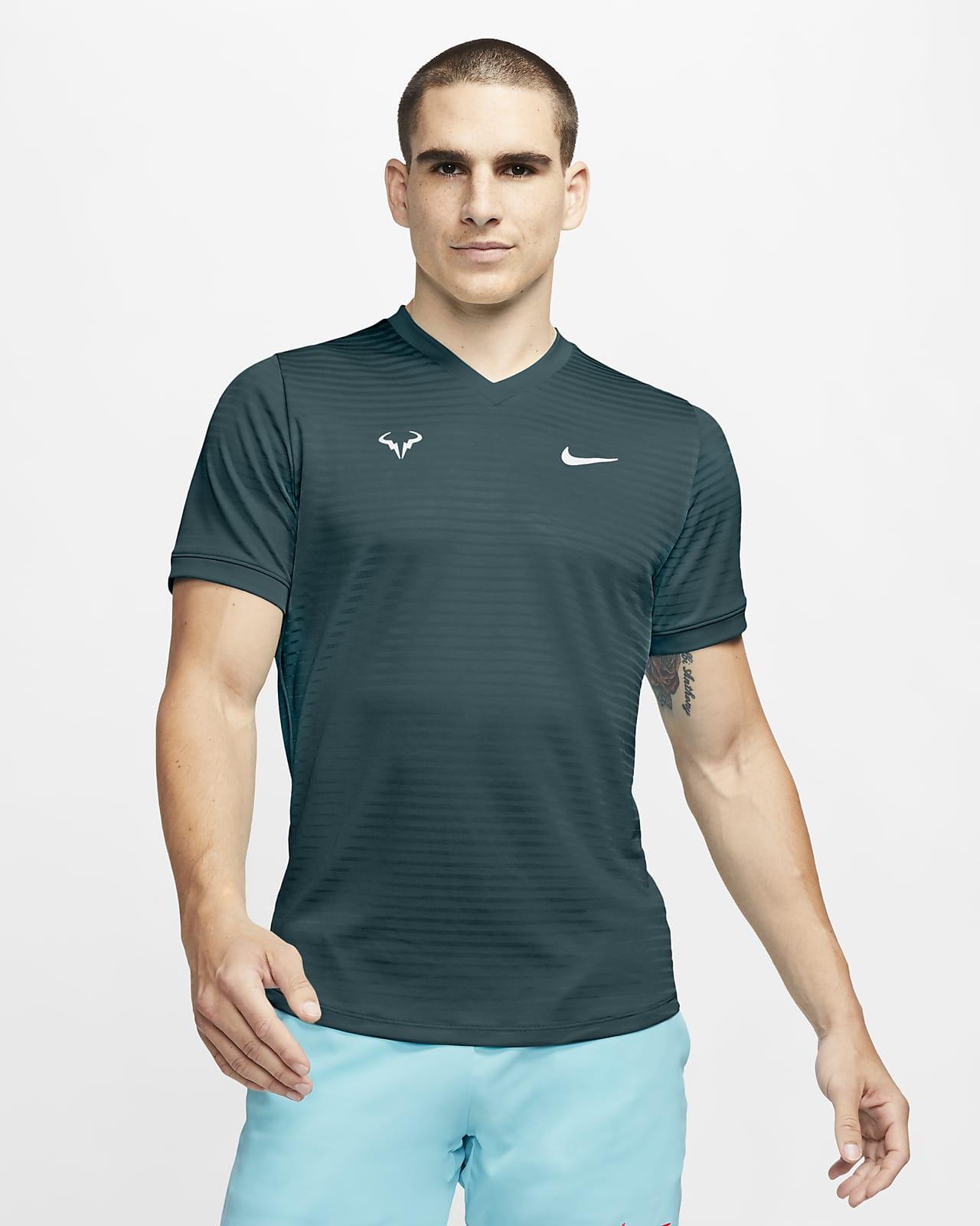Rafa Challenger Men's Short-Sleeve Tennis Top