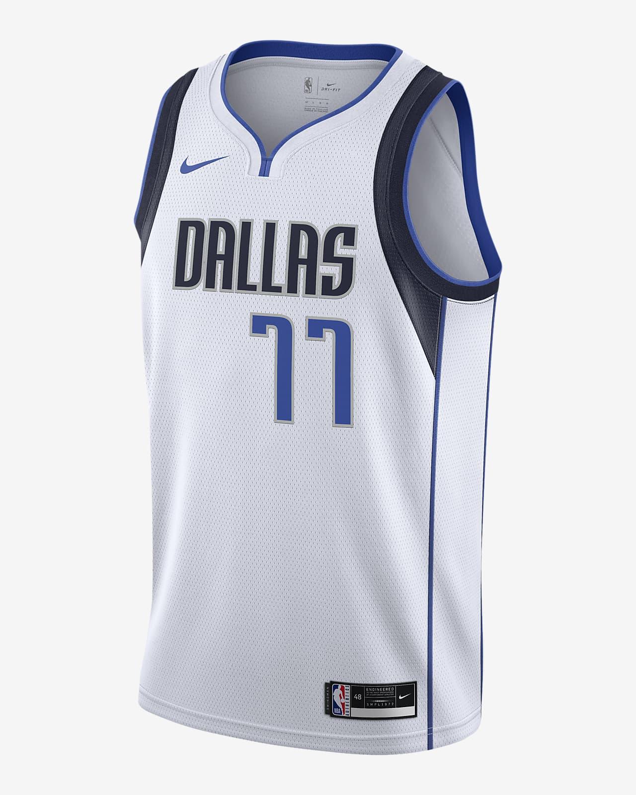 Coherente taquigrafía mensaje  Luka Doncic Mavericks Association Edition 2020 Nike NBA Swingman Jersey.  Nike GB