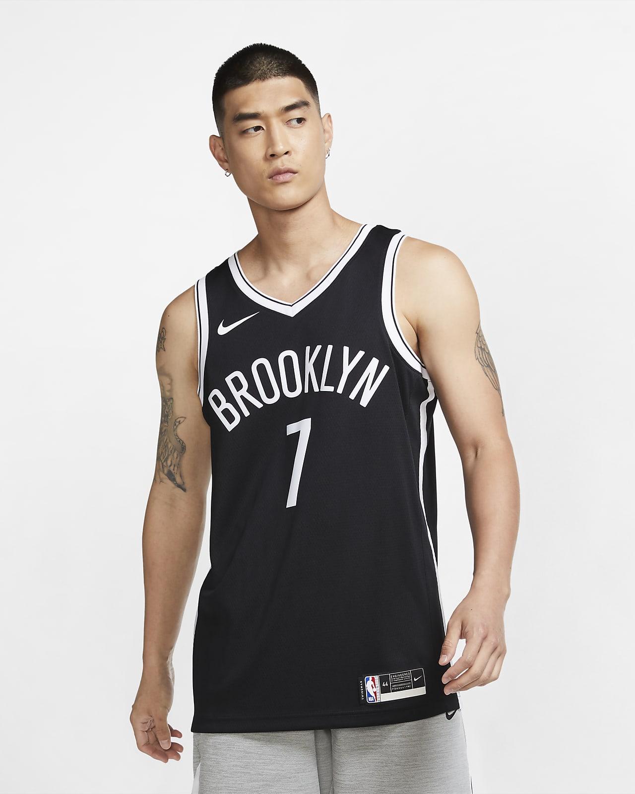 เสื้อแข่ง Nike NBA Swingman Kevin Durant Nets Icon Edition 2020