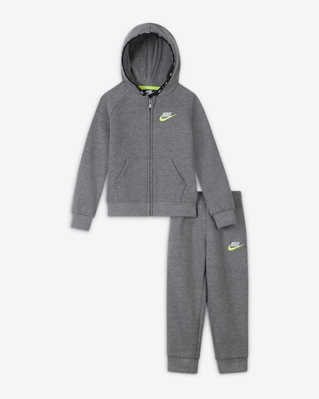 Nike Conjunto de sudadera con capucha y jogger - Infantil