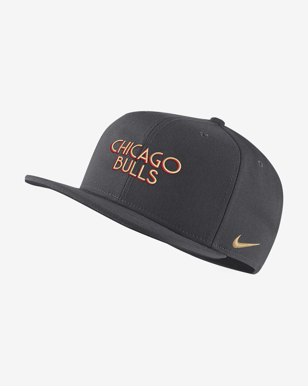 Chicago Bulls City Edition Nike Pro NBA Şapka