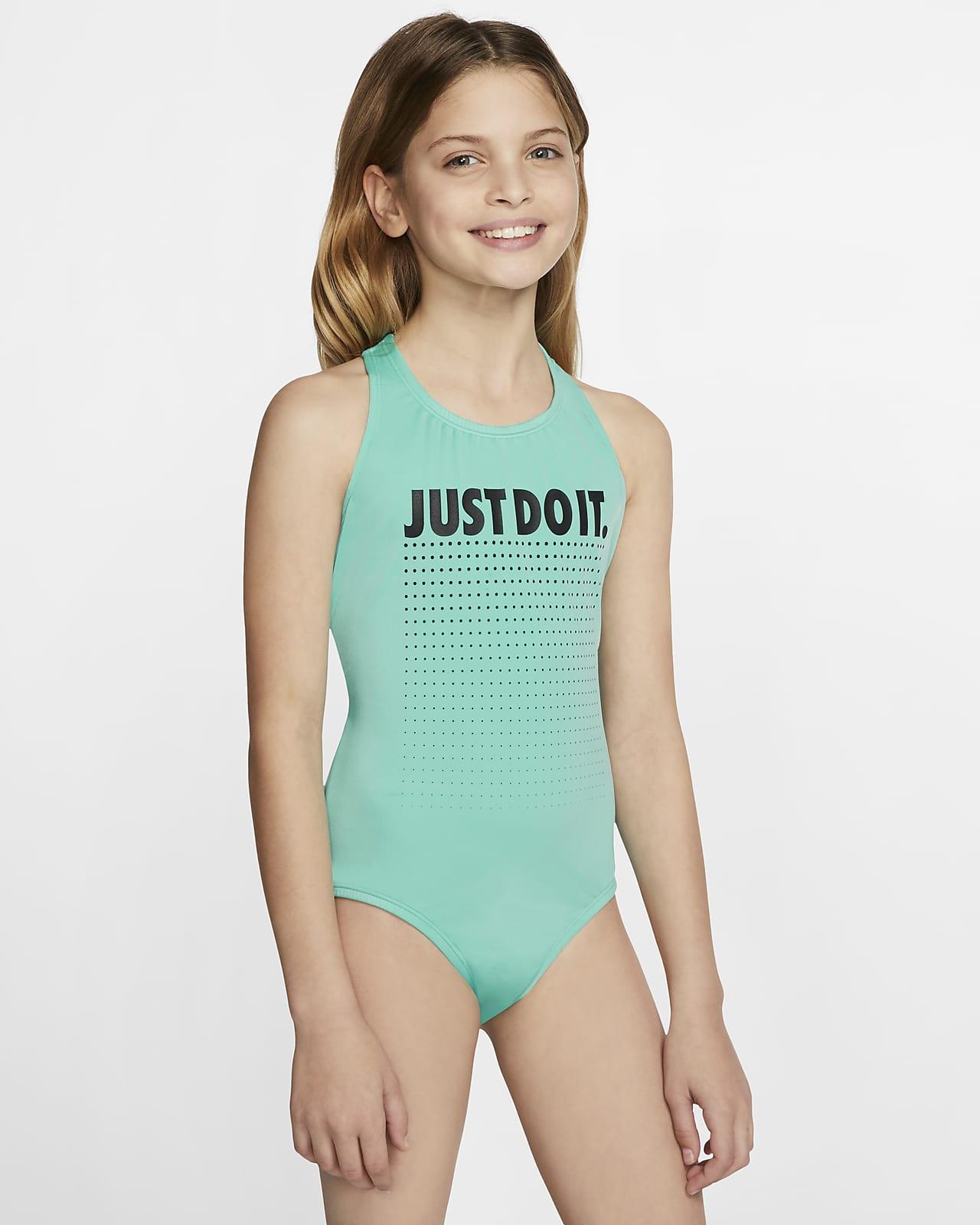 Fato de banho com costas cruzadas Nike JDI Júnior (Rapariga)
