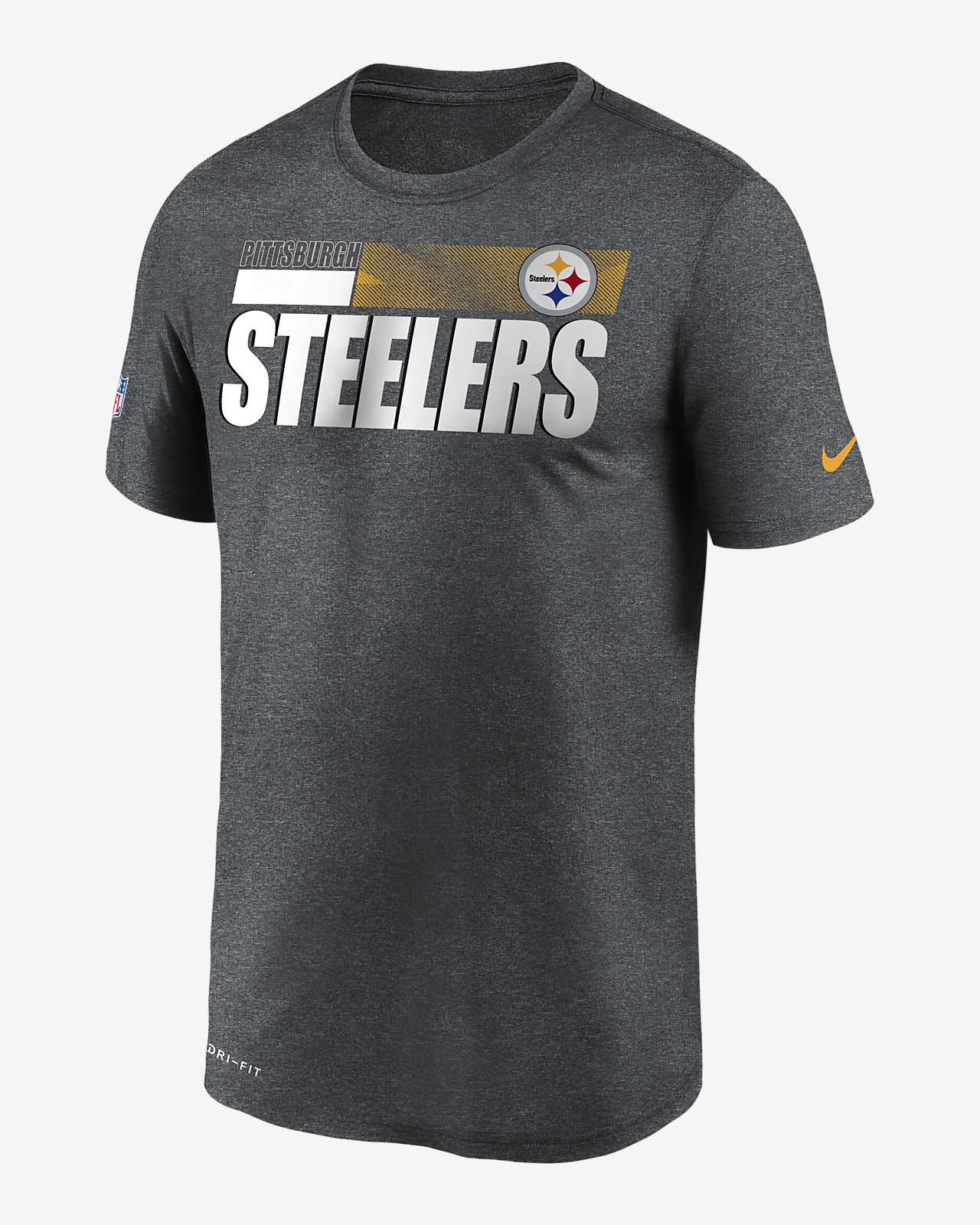 Nike Dri-FIT Team Name Legend Sideline (NFL Pittsburgh Steelers) Men's T-Shirt