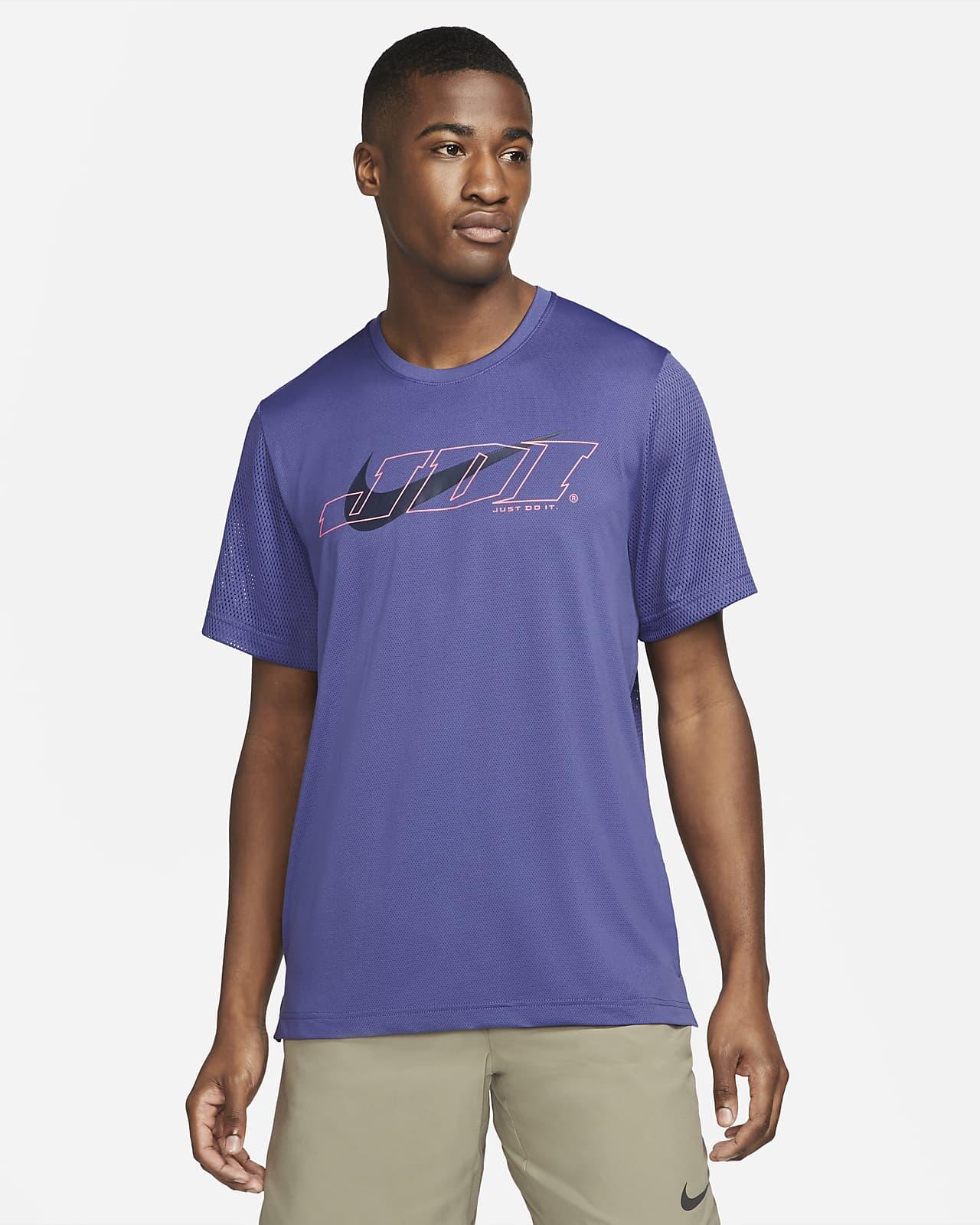 Pánské tréninkové tričko Nike Sport Clash skrátkým rukávem