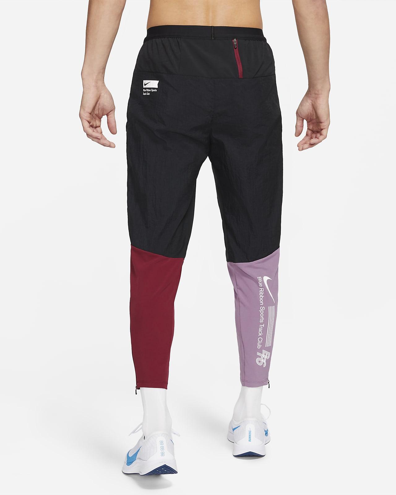 กางเกงวิ่งขายาวผู้ชายแบบทอ Nike Phenom Elite BRS