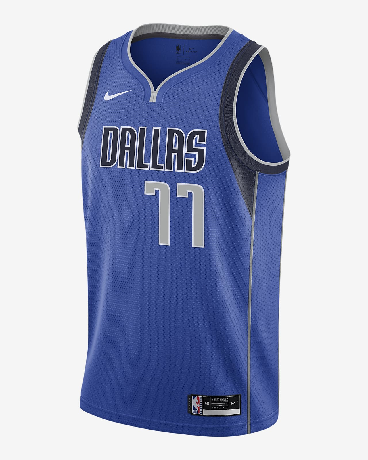 Luka Dončić Mavericks Icon Edition 2020 Nike NBA Swingman Jersey