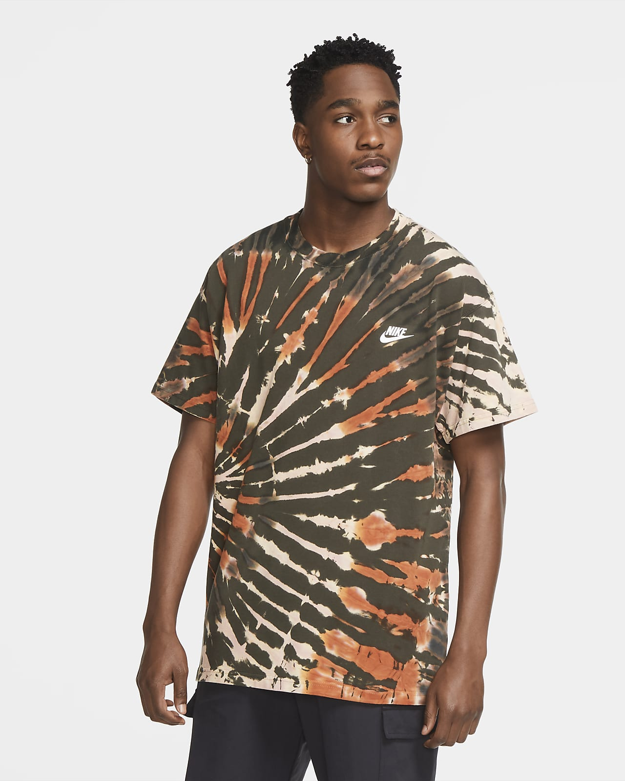 T-shirt Tie-Dye Nike Sportswear - Uomo