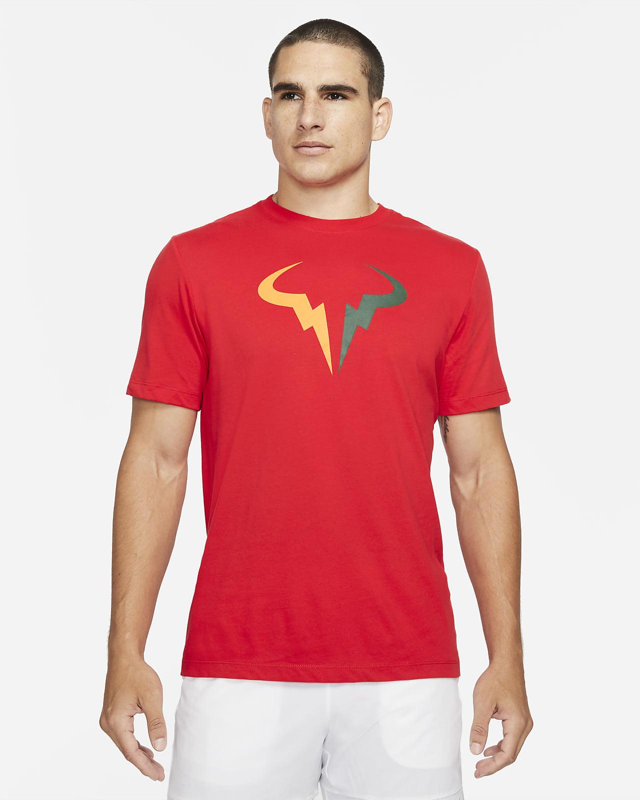 T-shirt de ténis NikeCourt Dri-FIT Rafa para homem