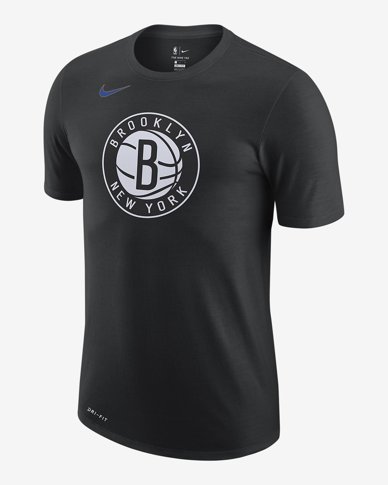 Brooklyn Nets City Edition Logo Nike Dri-FIT NBA-T-skjorte til herre