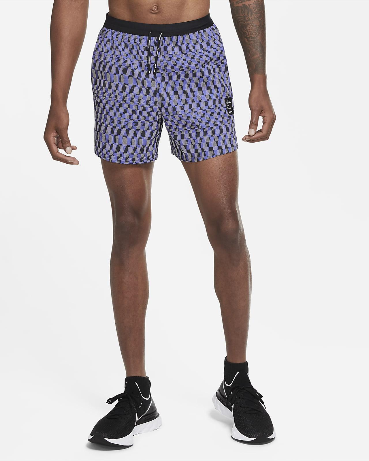 Nike Flex Stride A.I.R. กางเกงวิ่งขาสั้นผู้ชาย Chaz Bear