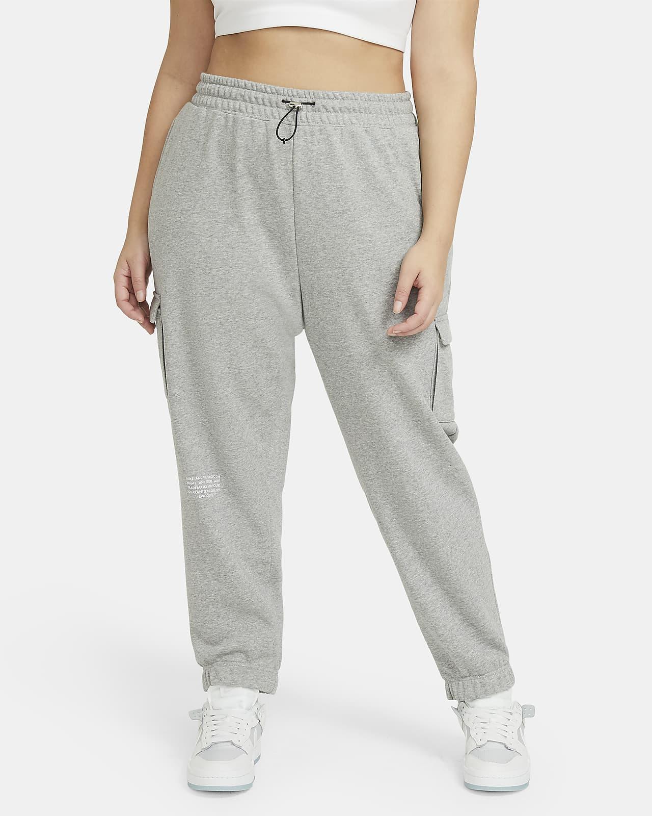 Calças Nike Sportswear Swoosh para mulher (tamanhos grandes)