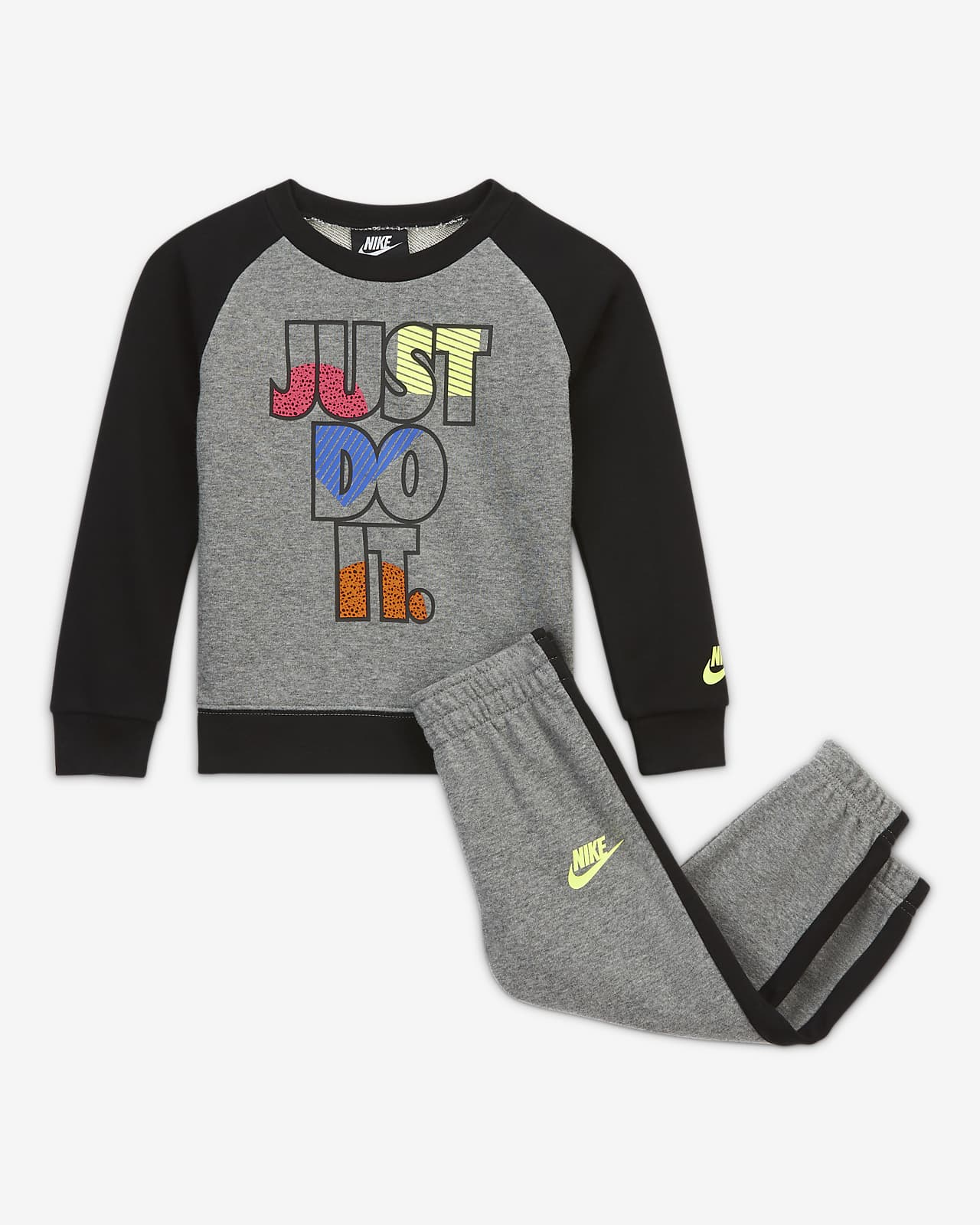 Nike Toddler Crew and Pants Set