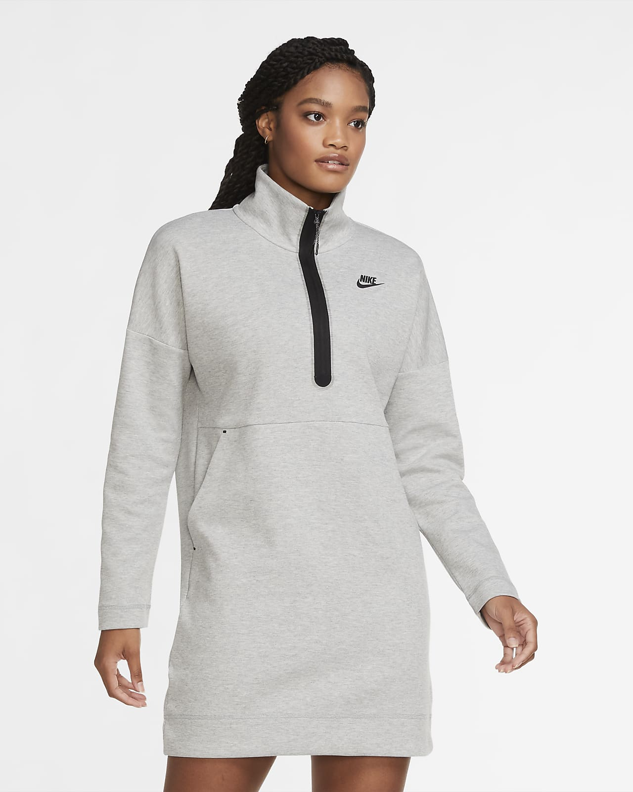 Nike Sportswear Tech Fleece Women's Half-Zip Dress