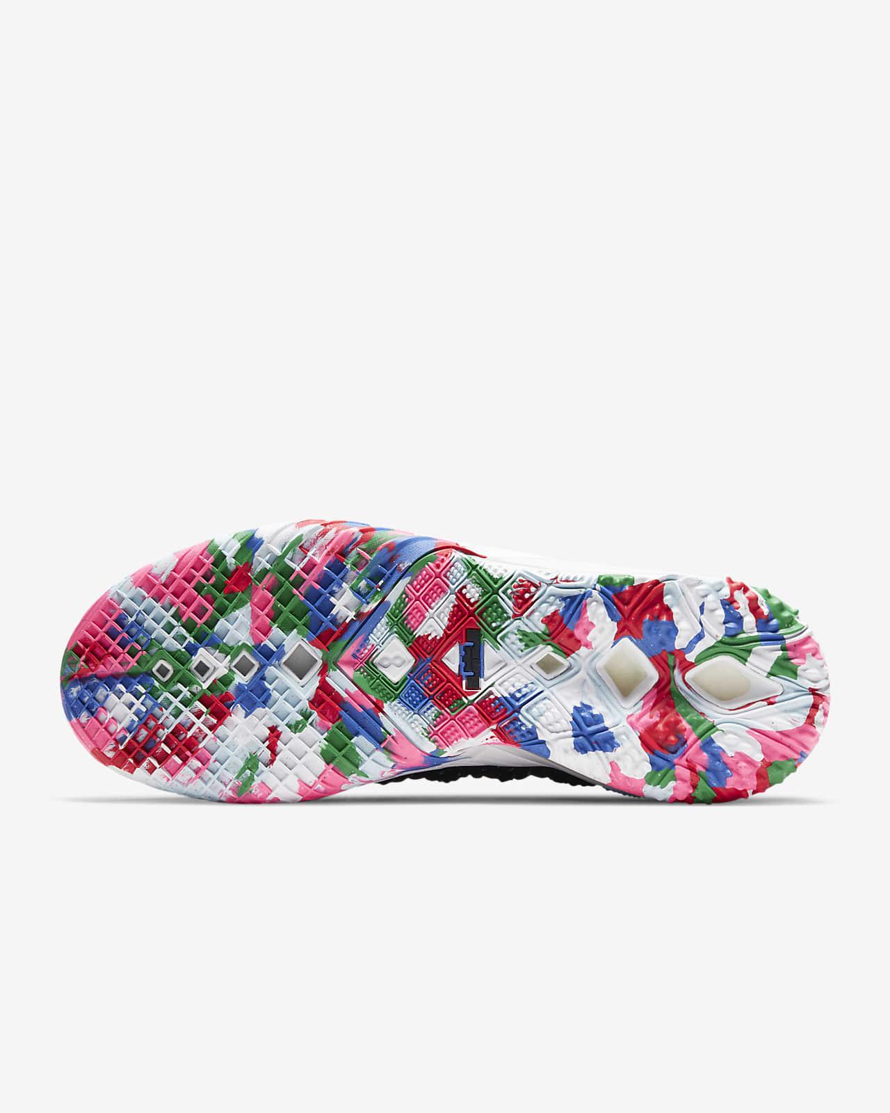 nike lebron multicolor shoes