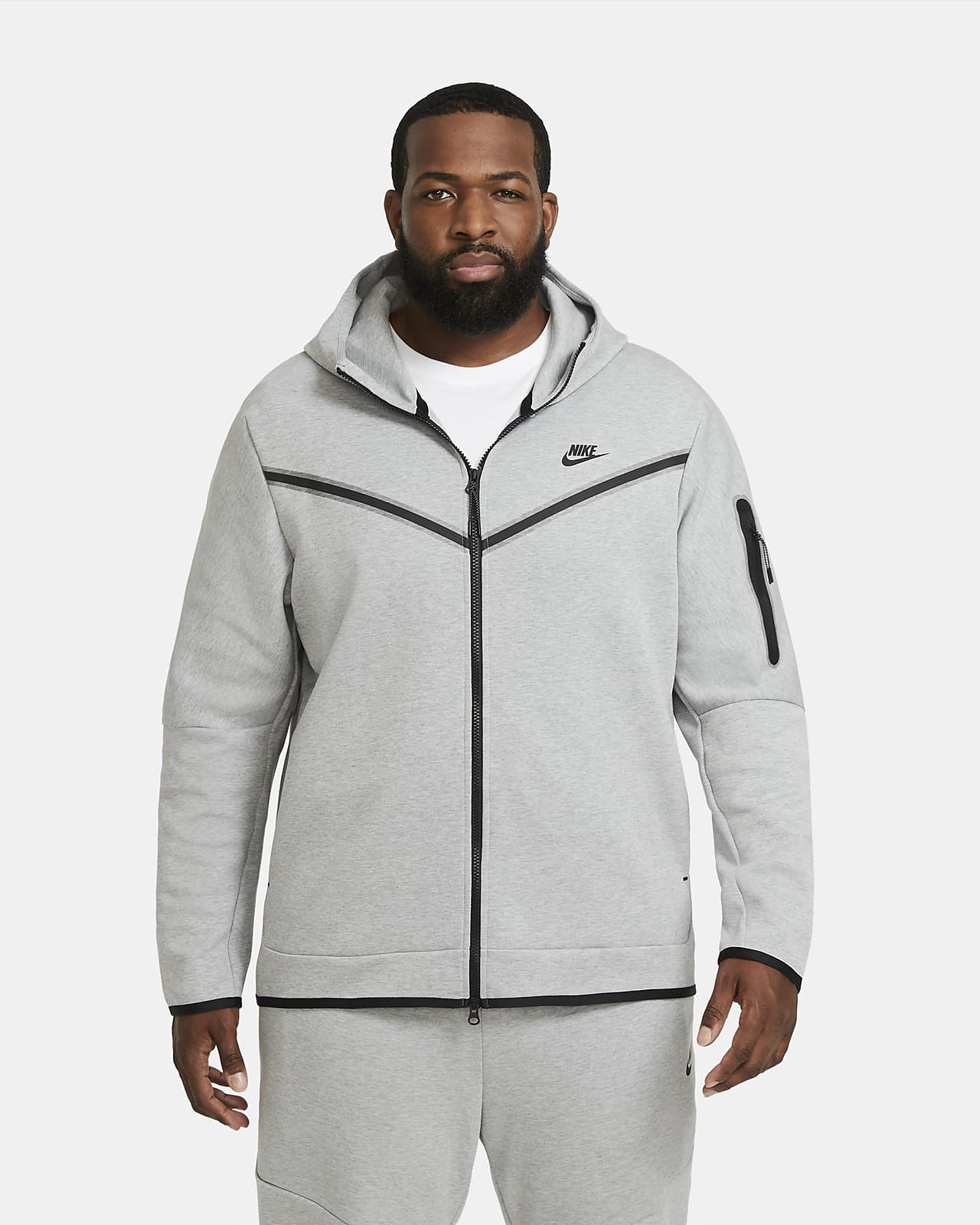 Nike Sportswear Tech Fleece Men S Full Zip Hoodie Nike Se
