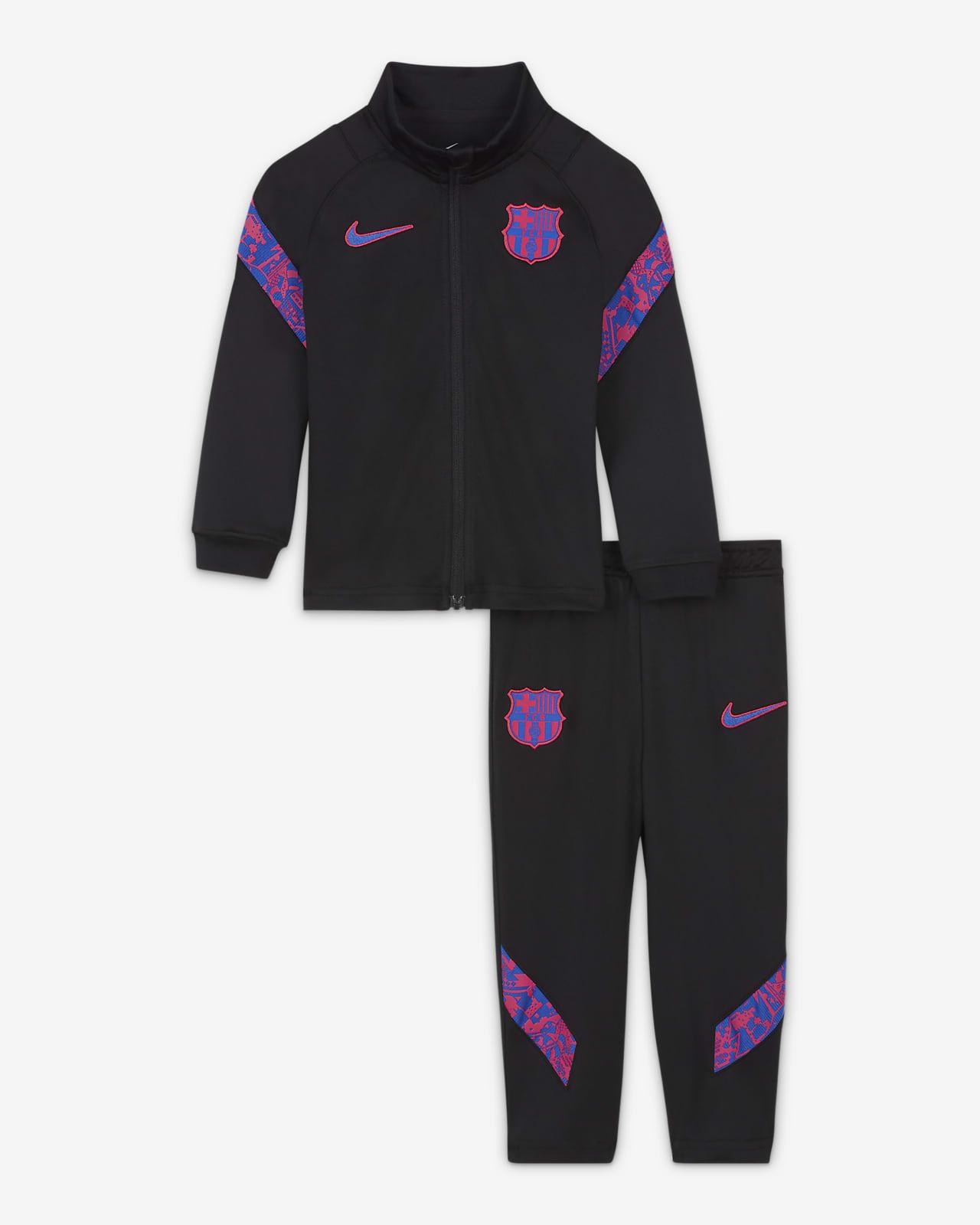Tuta da calcio in maglia Nike Dri-FIT FC Barcelona Strike - Neonati/Bimbi piccoli