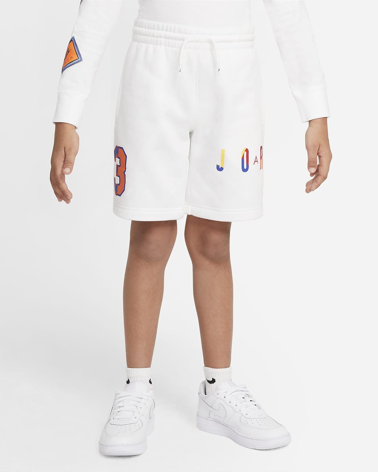 Calções de lã cardada Jordan Air para criança