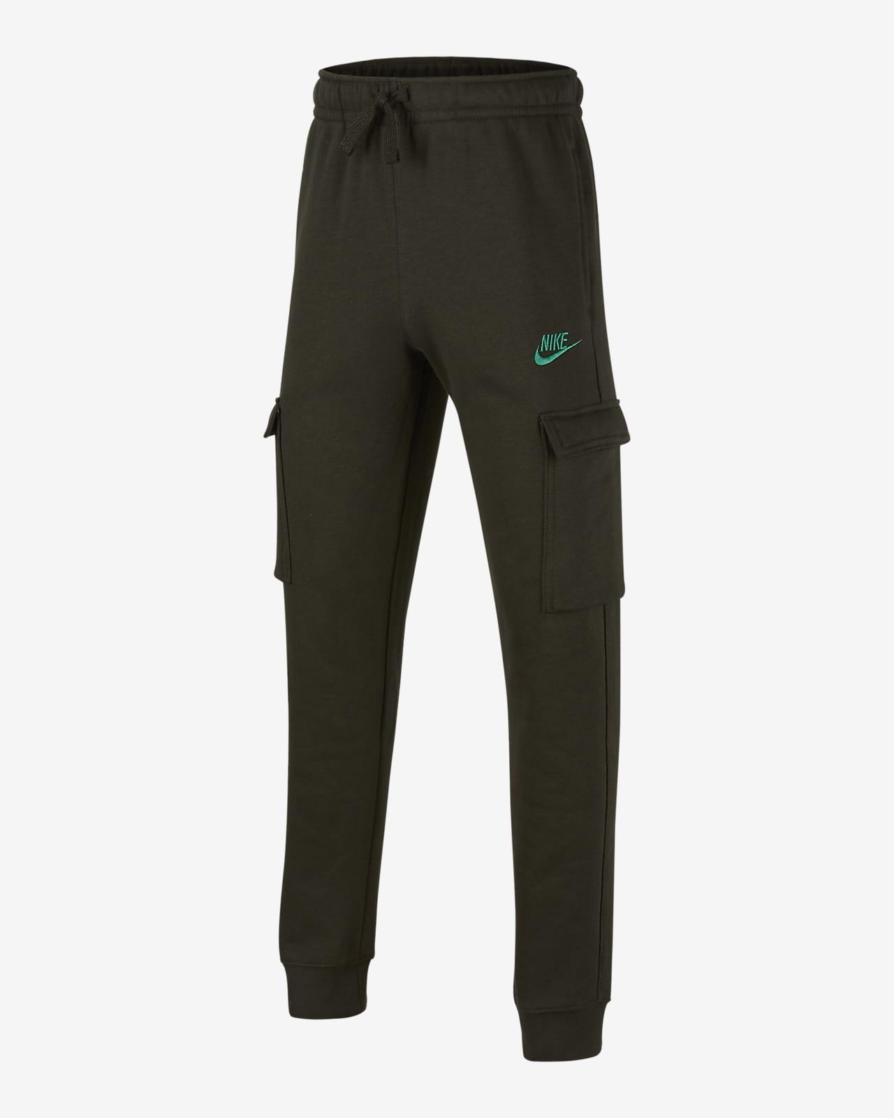 Nike Sportswear Club 大童(男孩)工装长裤